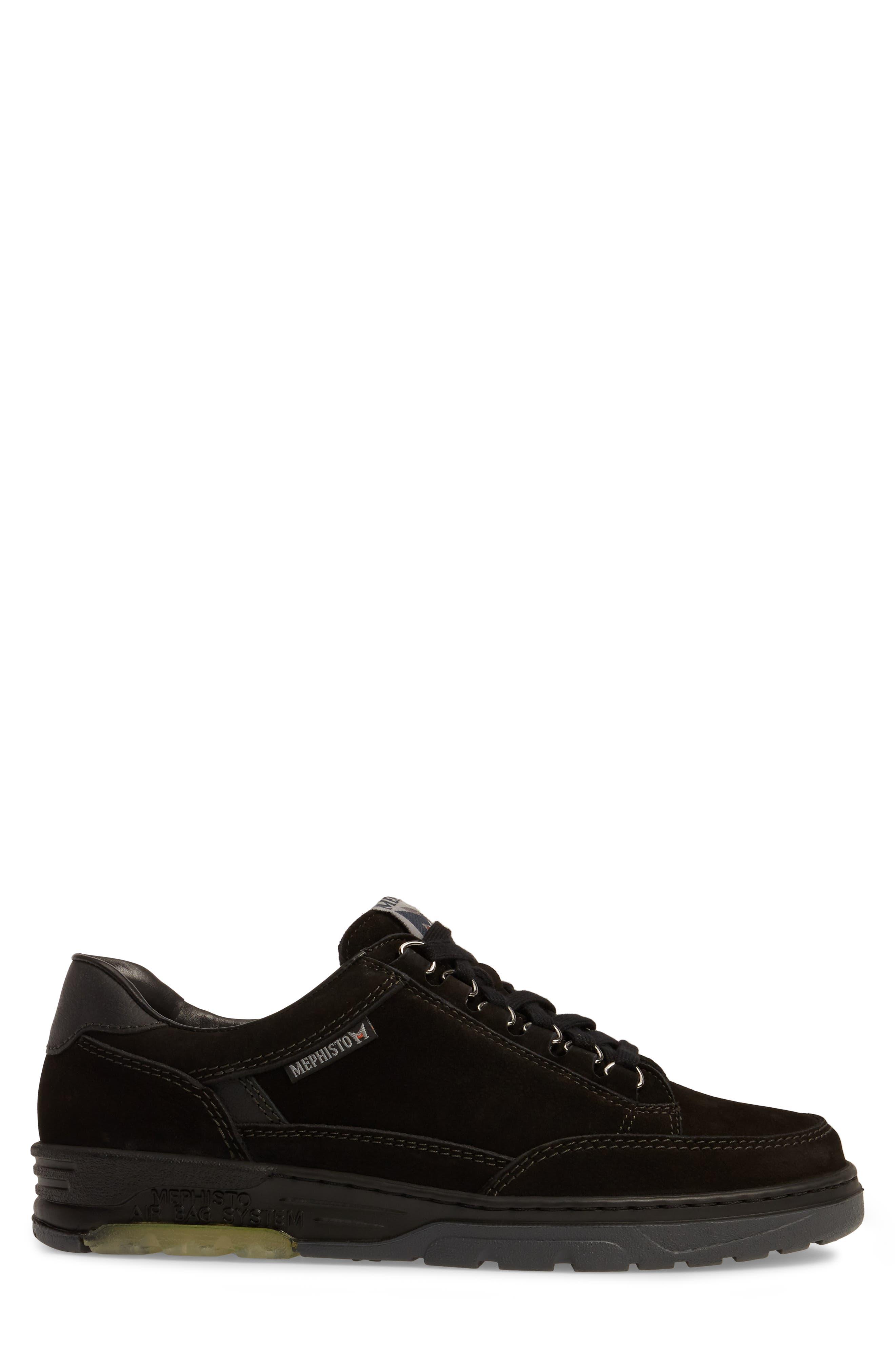 Mick Sneaker,                             Alternate thumbnail 3, color,                             BLACK SPORTBUCK