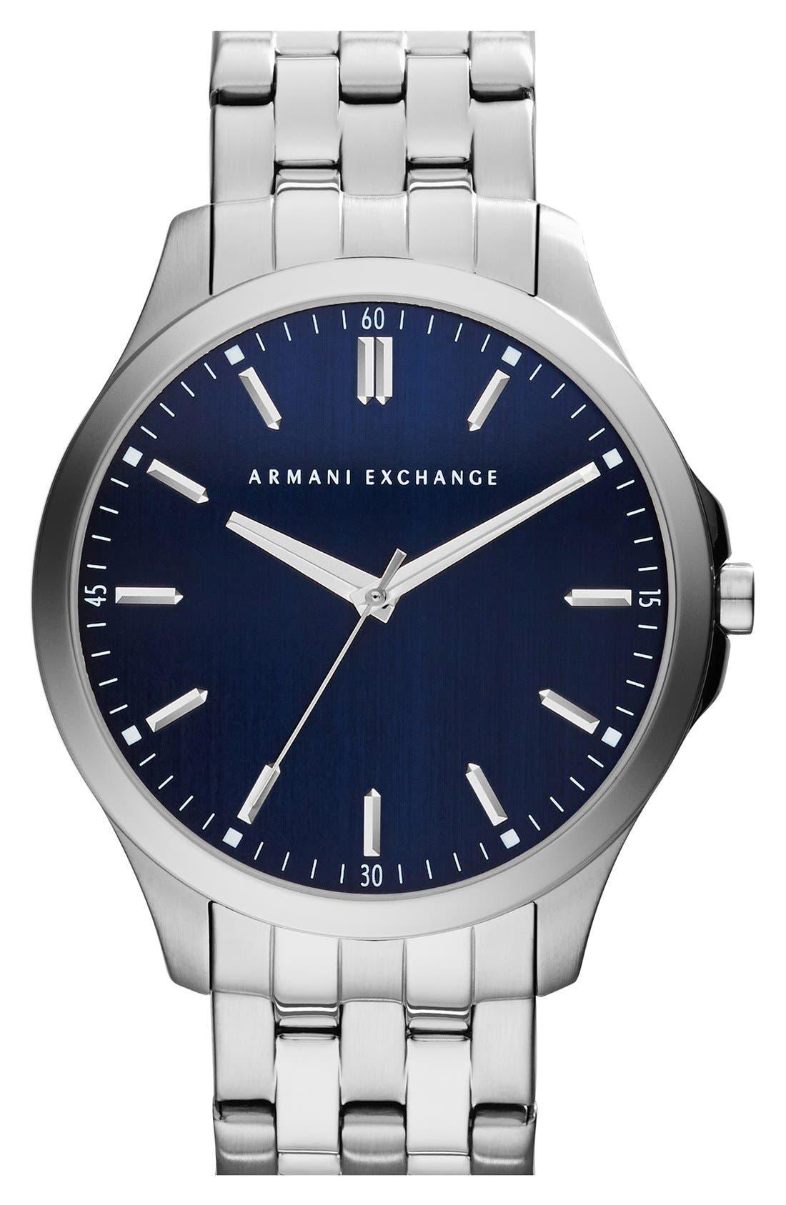Round Bracelet Watch, 45mm,                             Main thumbnail 3, color,