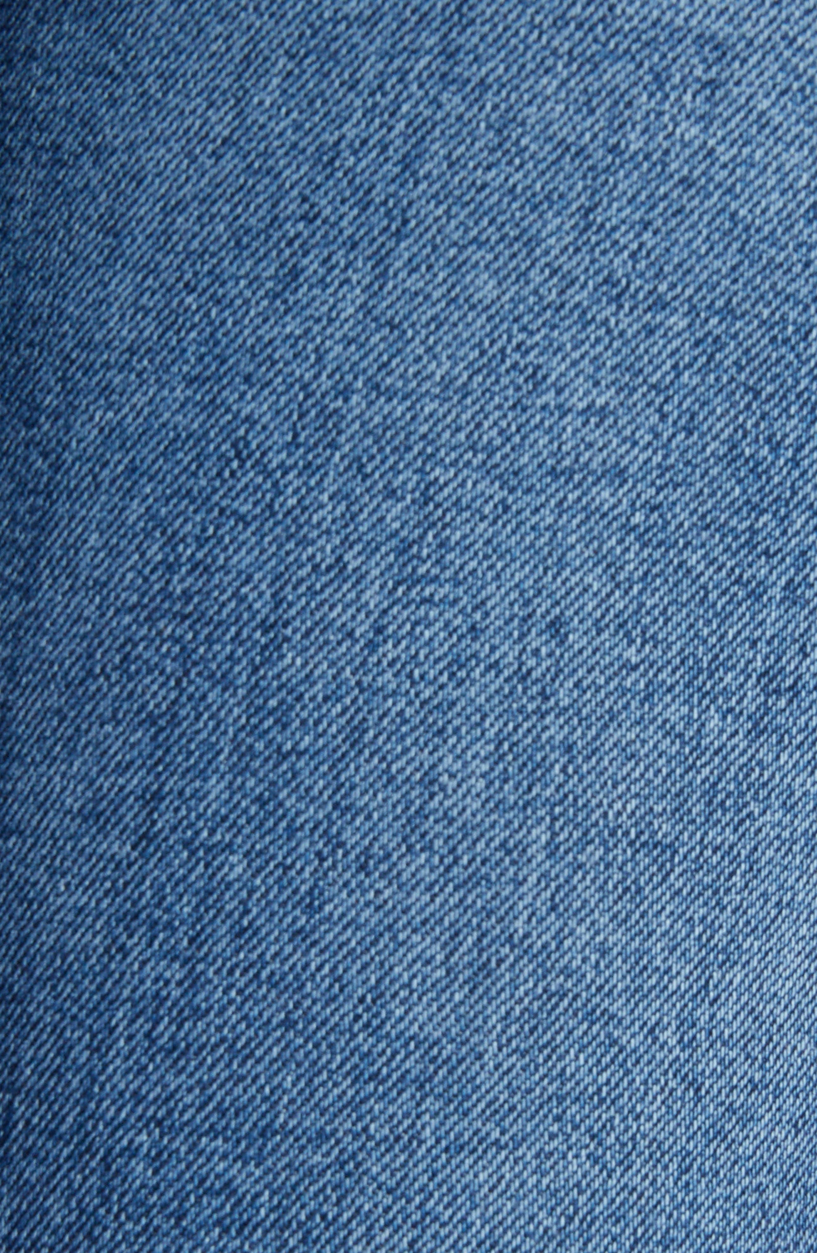Side Stripe Crop Skinny Jeans,                             Alternate thumbnail 5, color,
