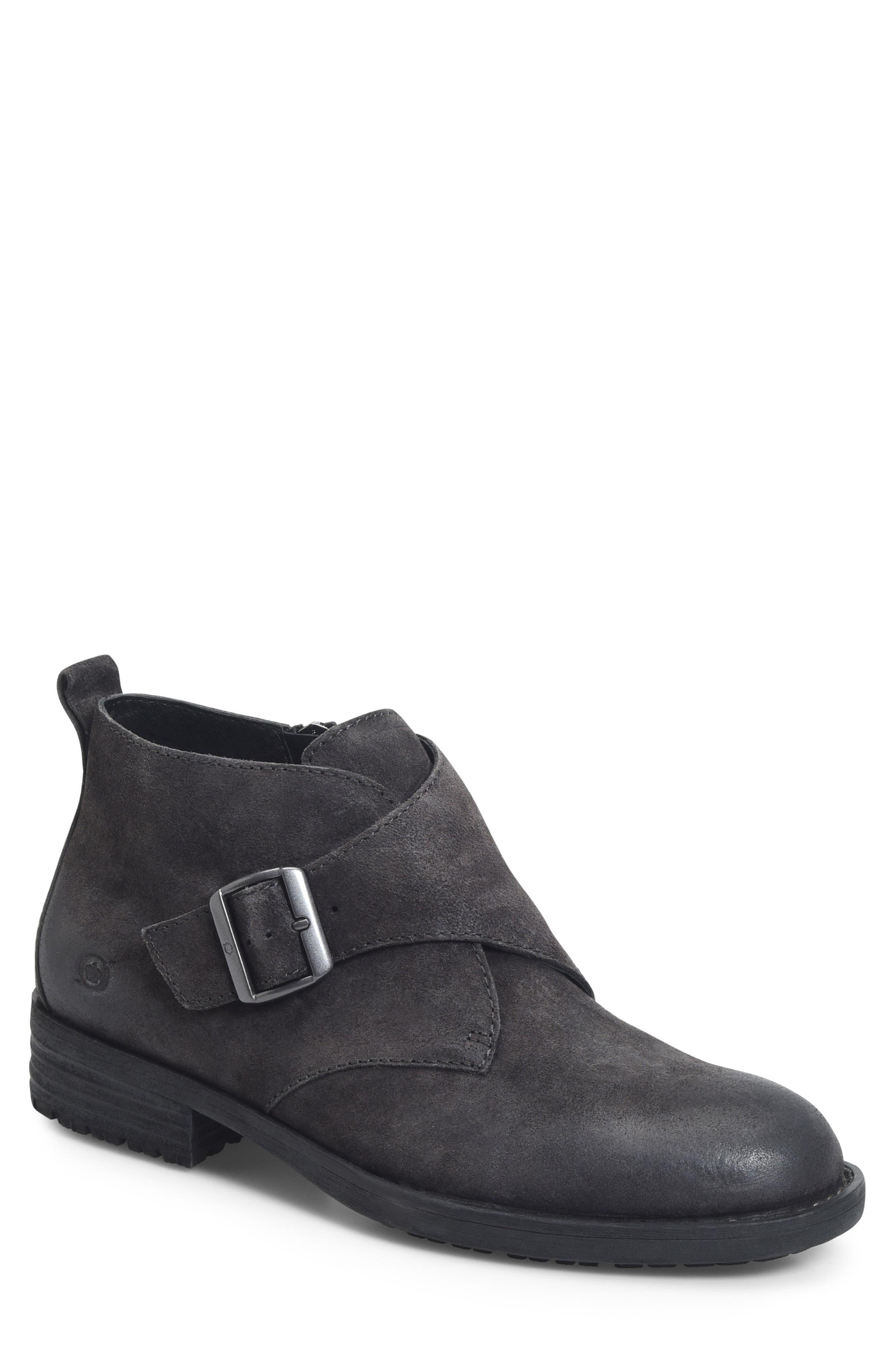 Drum Monk Strap Boot,                         Main,                         color, 001