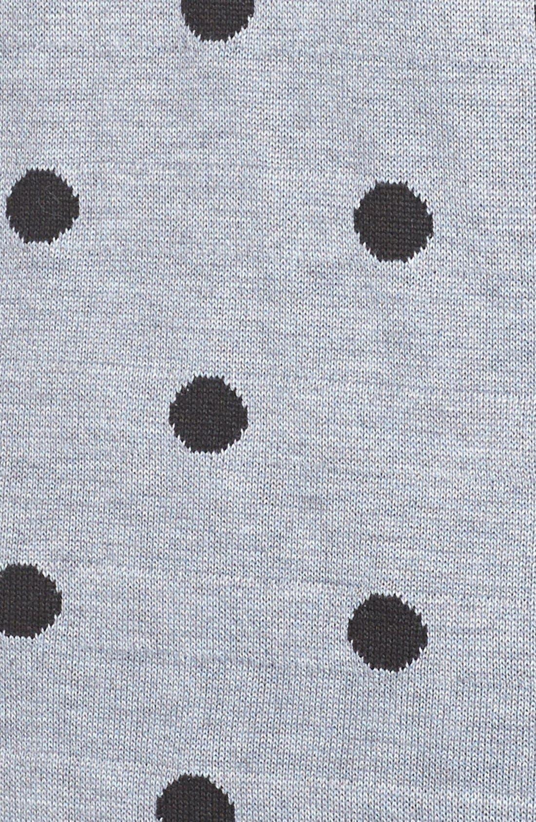 MELISSA MCCARTHY SEVEN7,                             Polka Dot Sweater,                             Alternate thumbnail 2, color,                             028