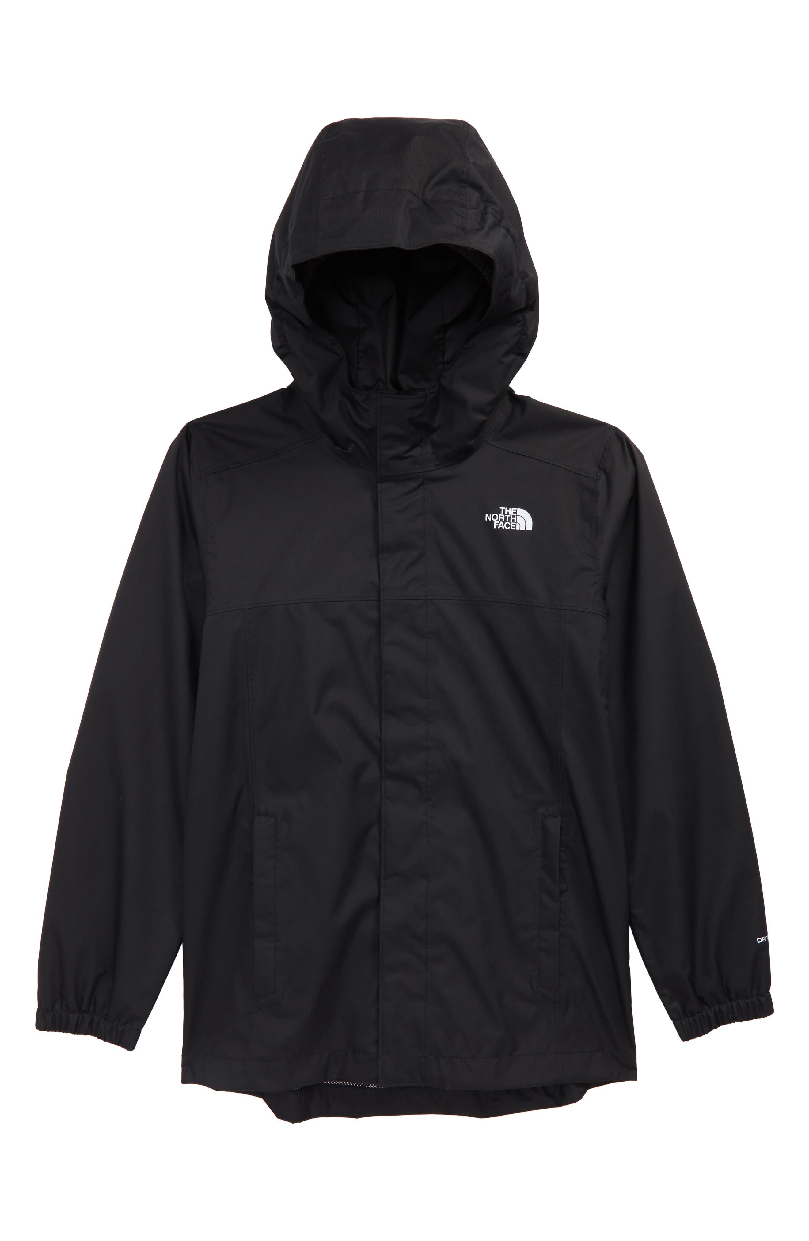 Resolve Waterproof Jacket,                         Main,                         color, BLACK