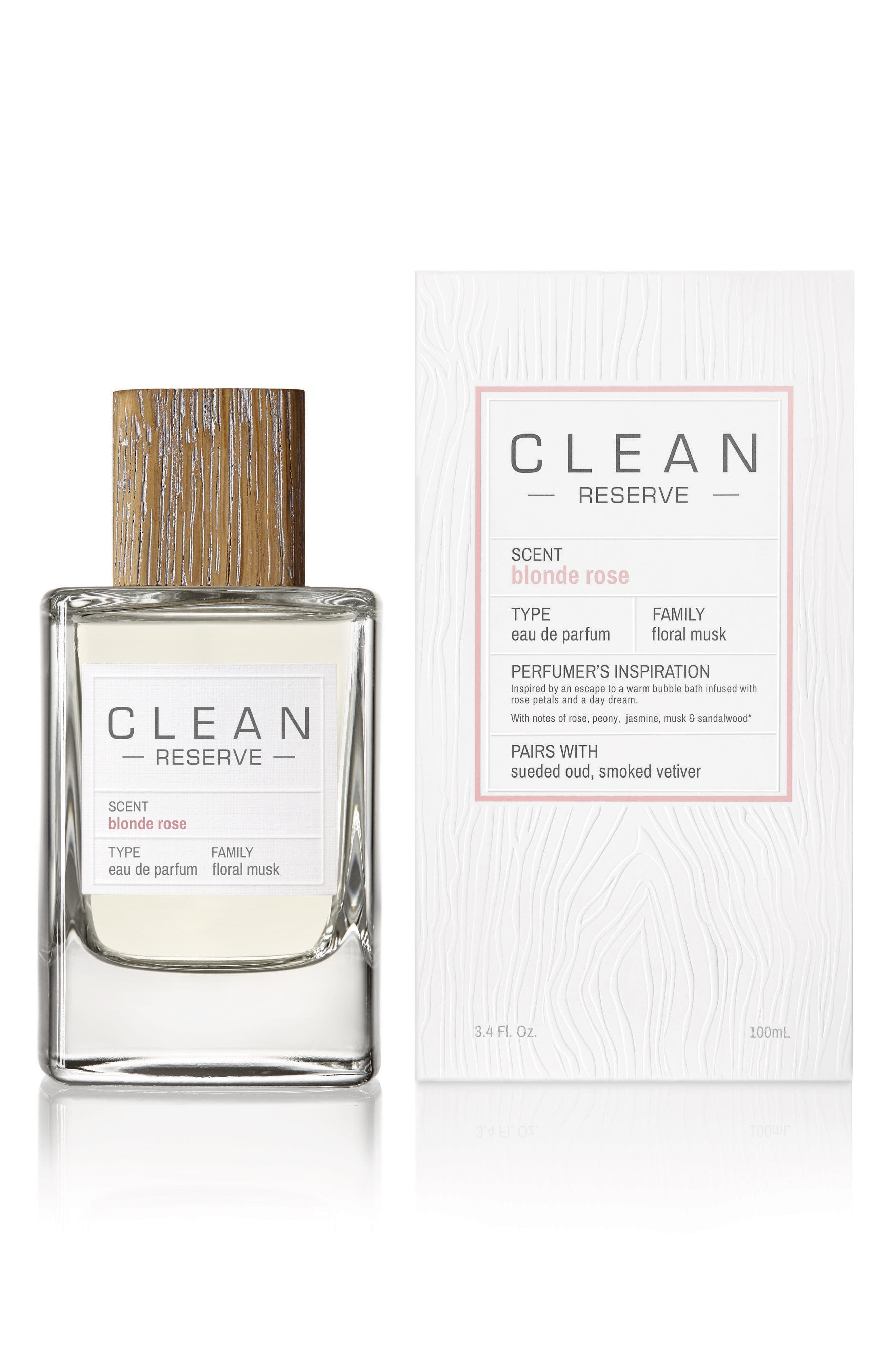 CLEAN RESERVE,                             Blonde Rose Eau de Parfum,                             Alternate thumbnail 4, color,                             NO COLOR