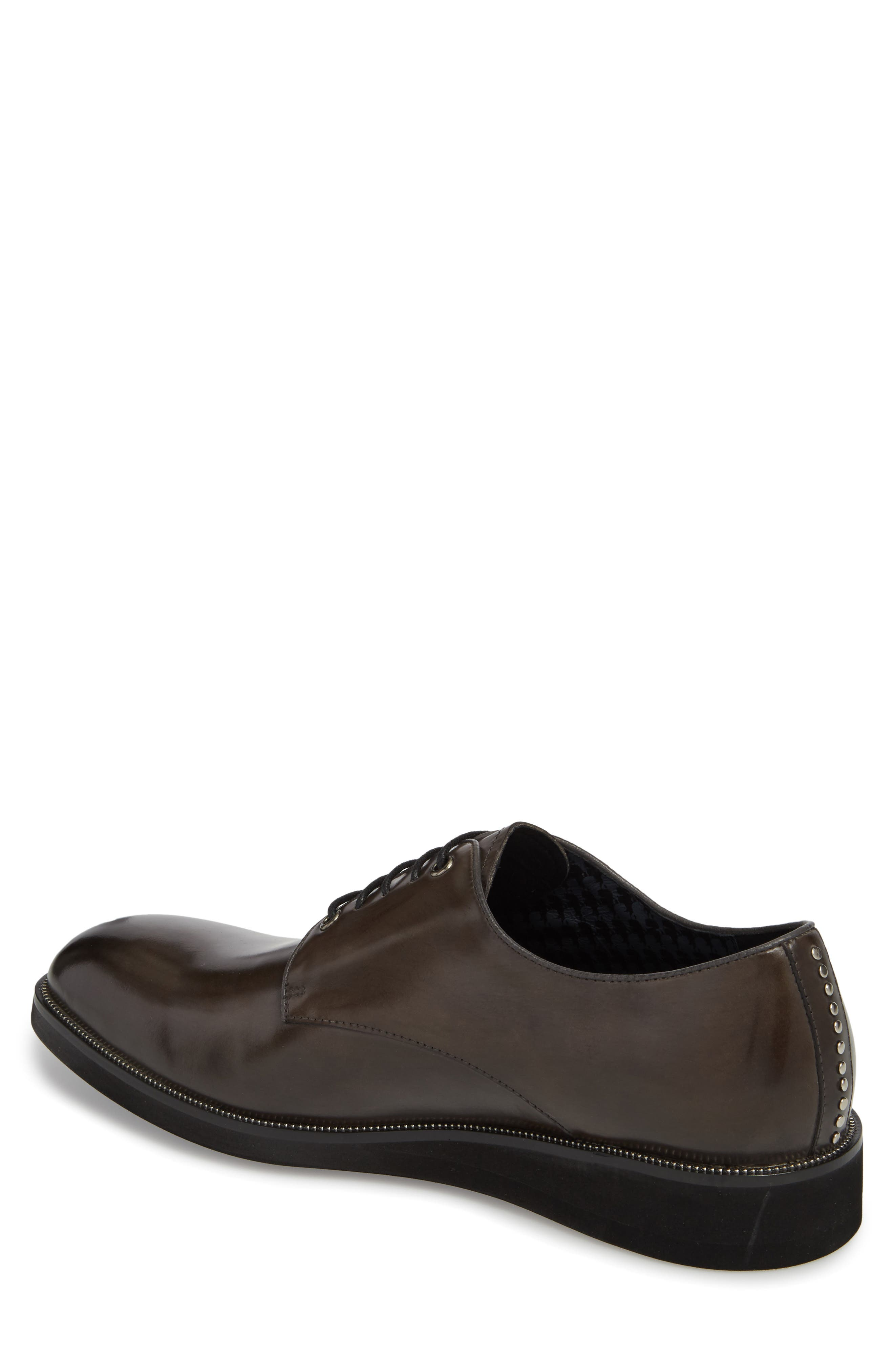Studded Oxford,                             Alternate thumbnail 2, color,                             GREY