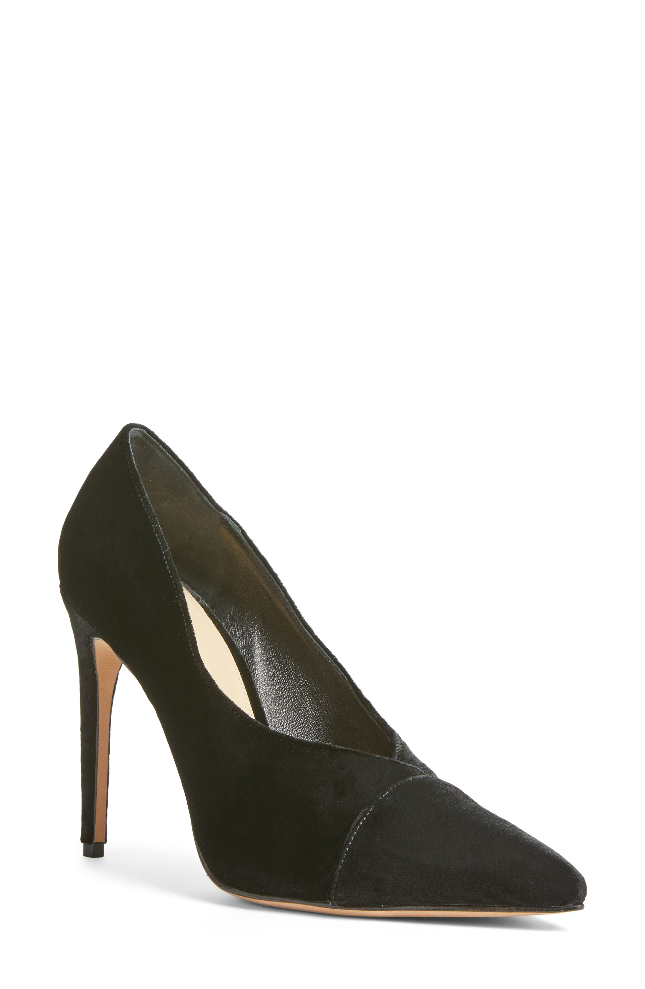 Clarice Pointy Toe Pump,                         Main,                         color, 001