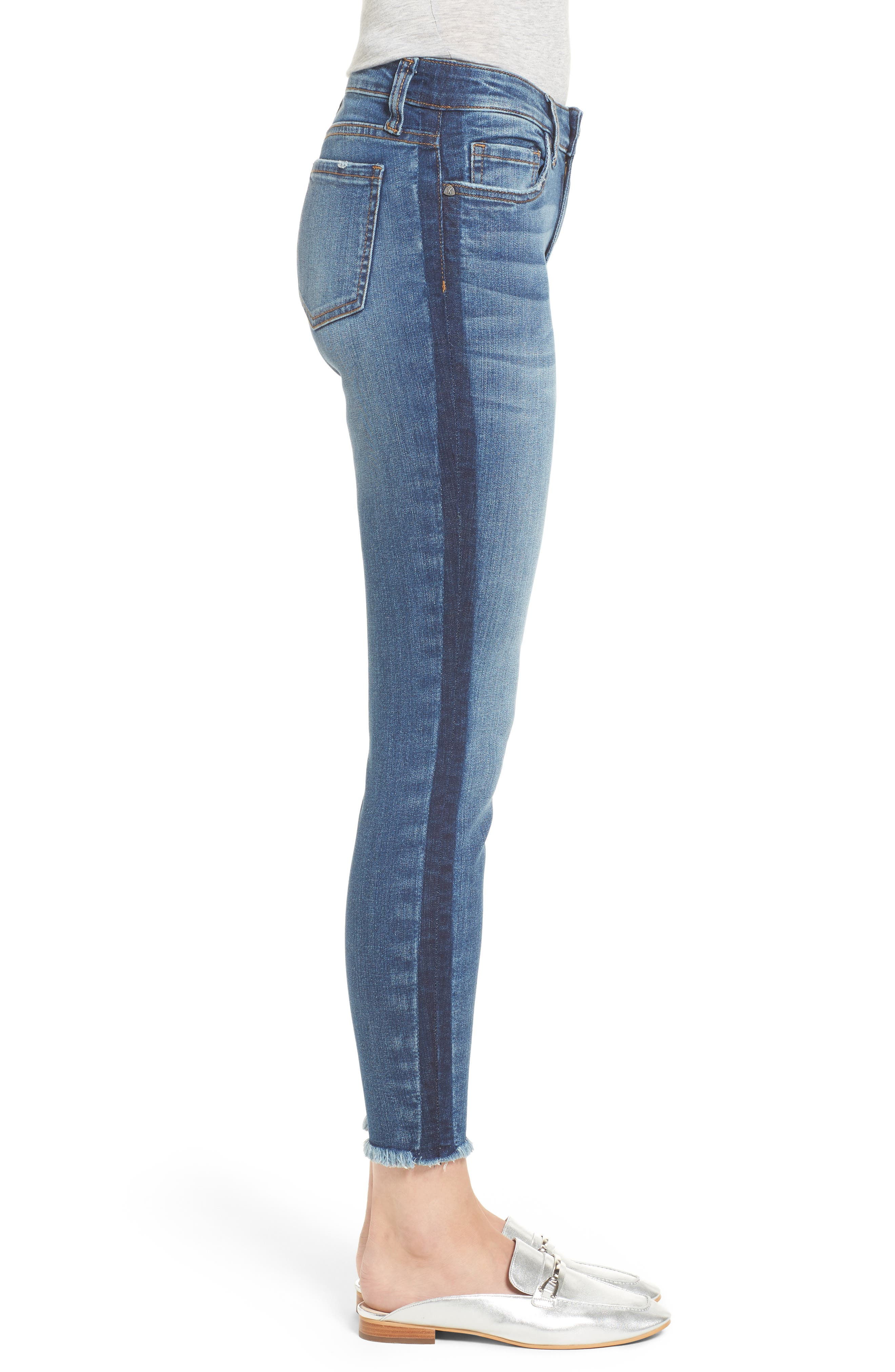 Connie Ankle Skinny Jeans,                             Alternate thumbnail 3, color,                             459