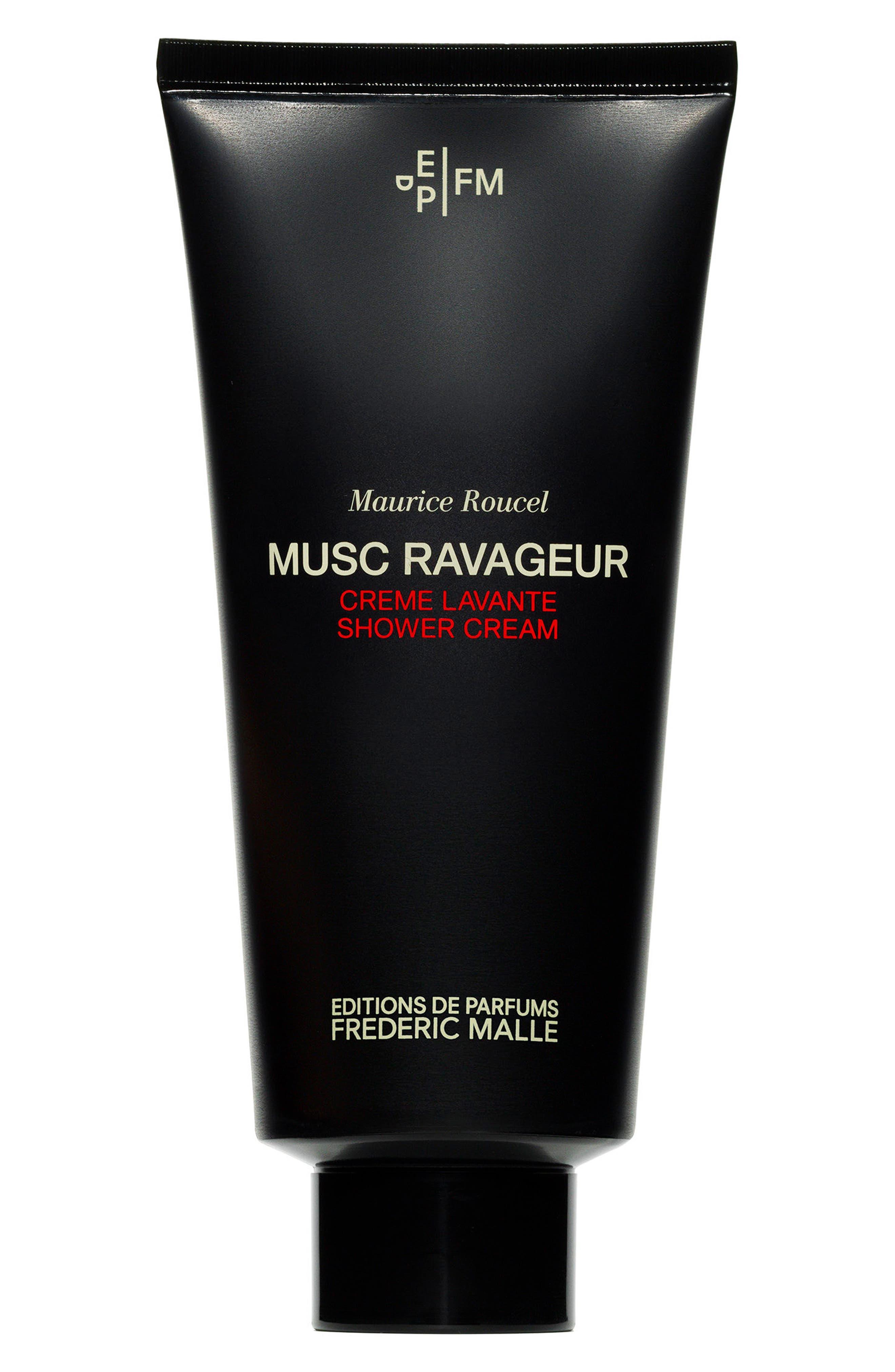 FREDERIC MALLE,                             Editions de Parfums Frédéric Malle Musc Ravageur Shower Cream,                             Main thumbnail 1, color,                             NO COLOR