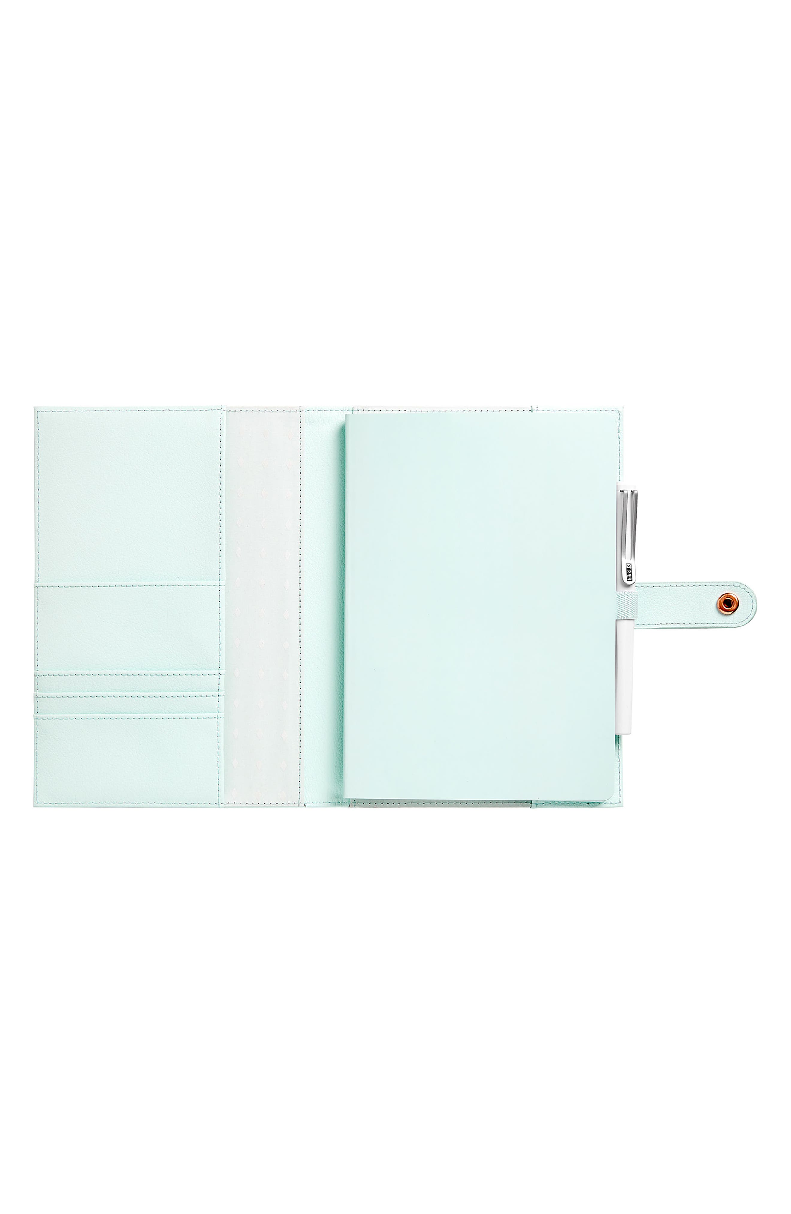 A5 Leather Notebook,                             Alternate thumbnail 2, color,                             300