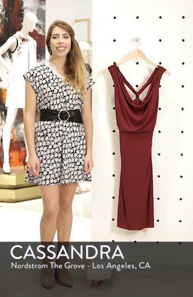 Elise Cowl Neck Sleeveless Dress, sales video thumbnail