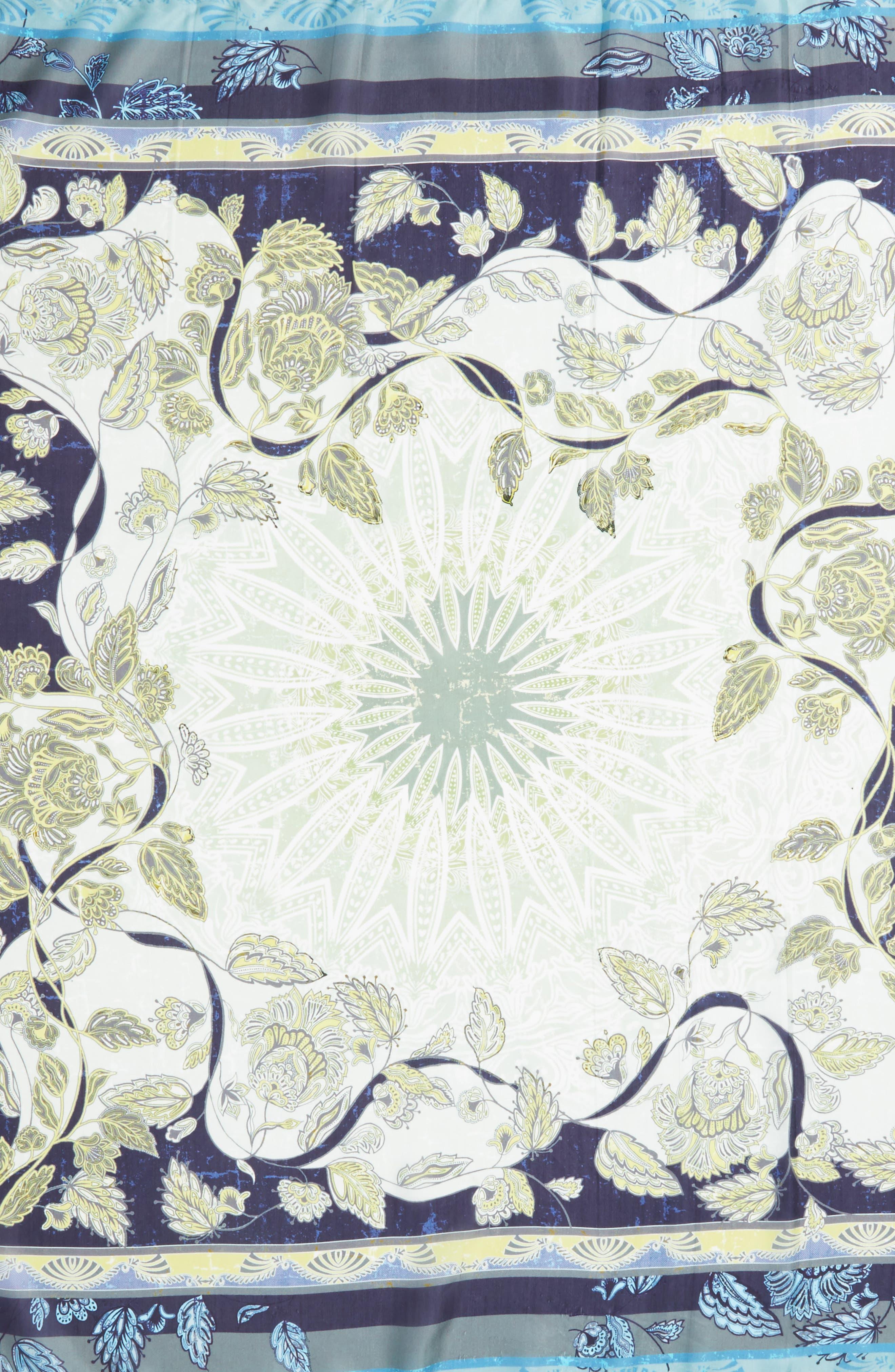 Arina Silk Square Scarf,                             Alternate thumbnail 4, color,                             400
