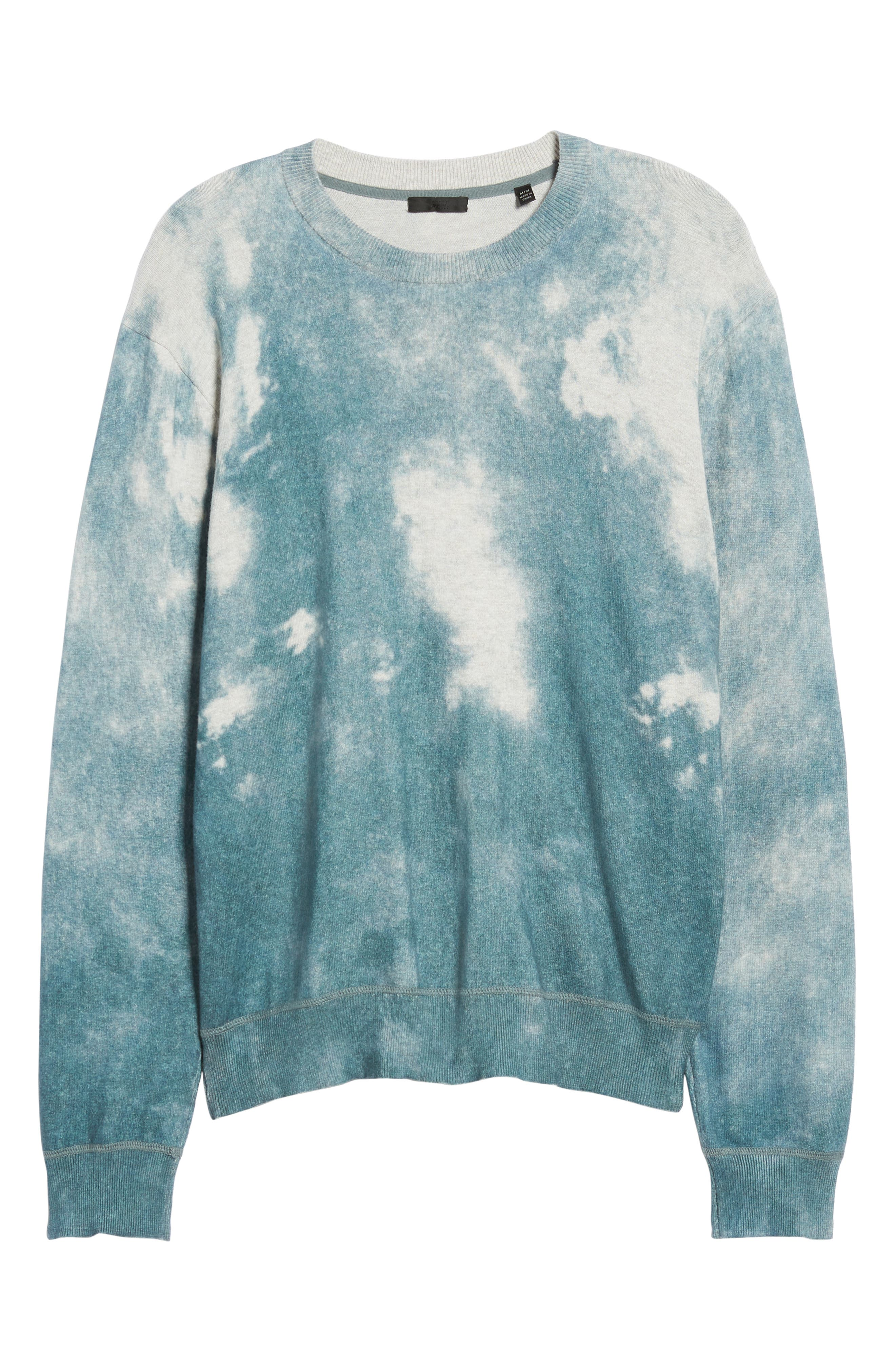 ATM ANTHONY THOMAS MELILLO,                             Abstract Print Sweater,                             Alternate thumbnail 6, color,                             450
