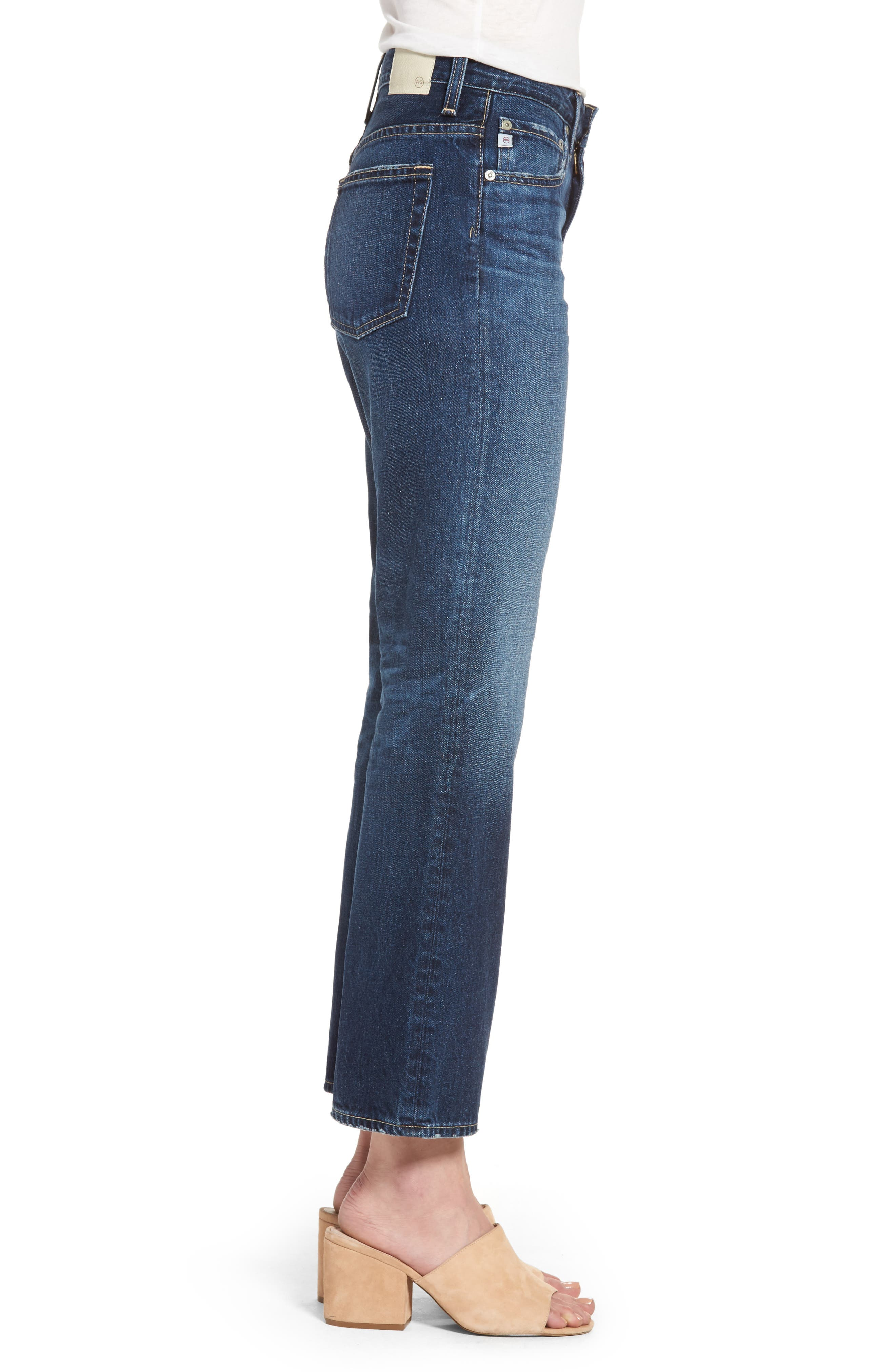 The Rhett Vintage High Waist Crop Jeans,                             Alternate thumbnail 3, color,                             415