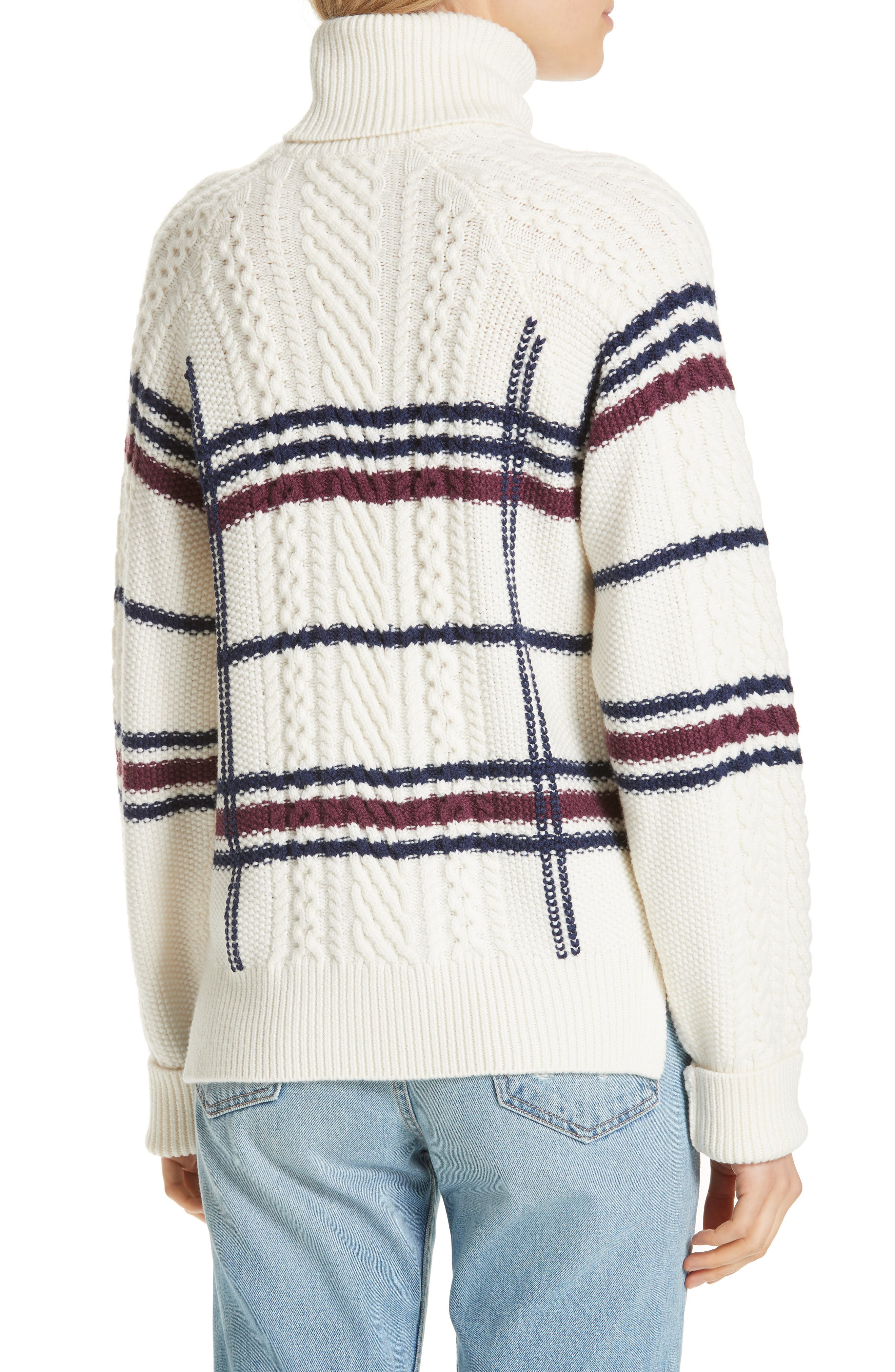 Ashlisa Sweater,                             Alternate thumbnail 2, color,                             PORCELAIN