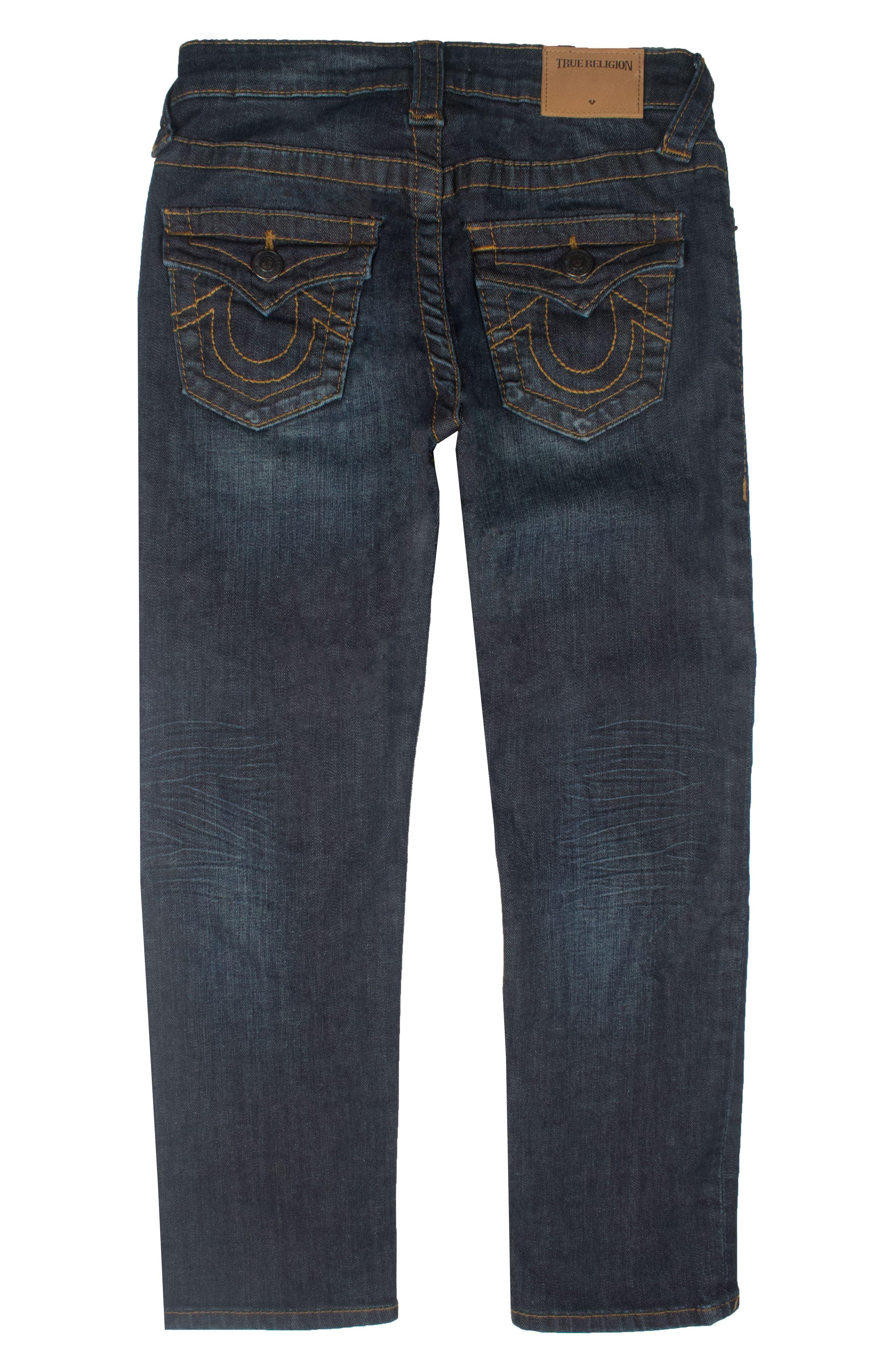 Geno Single End Straight Leg Jeans,                         Main,                         color, 473