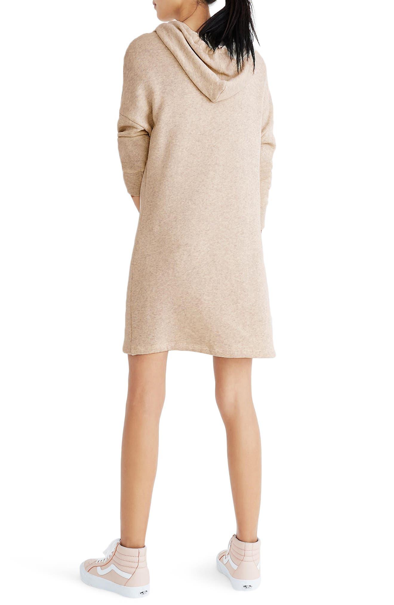 Hooded Sweatshirt Dress,                             Alternate thumbnail 2, color,                             020