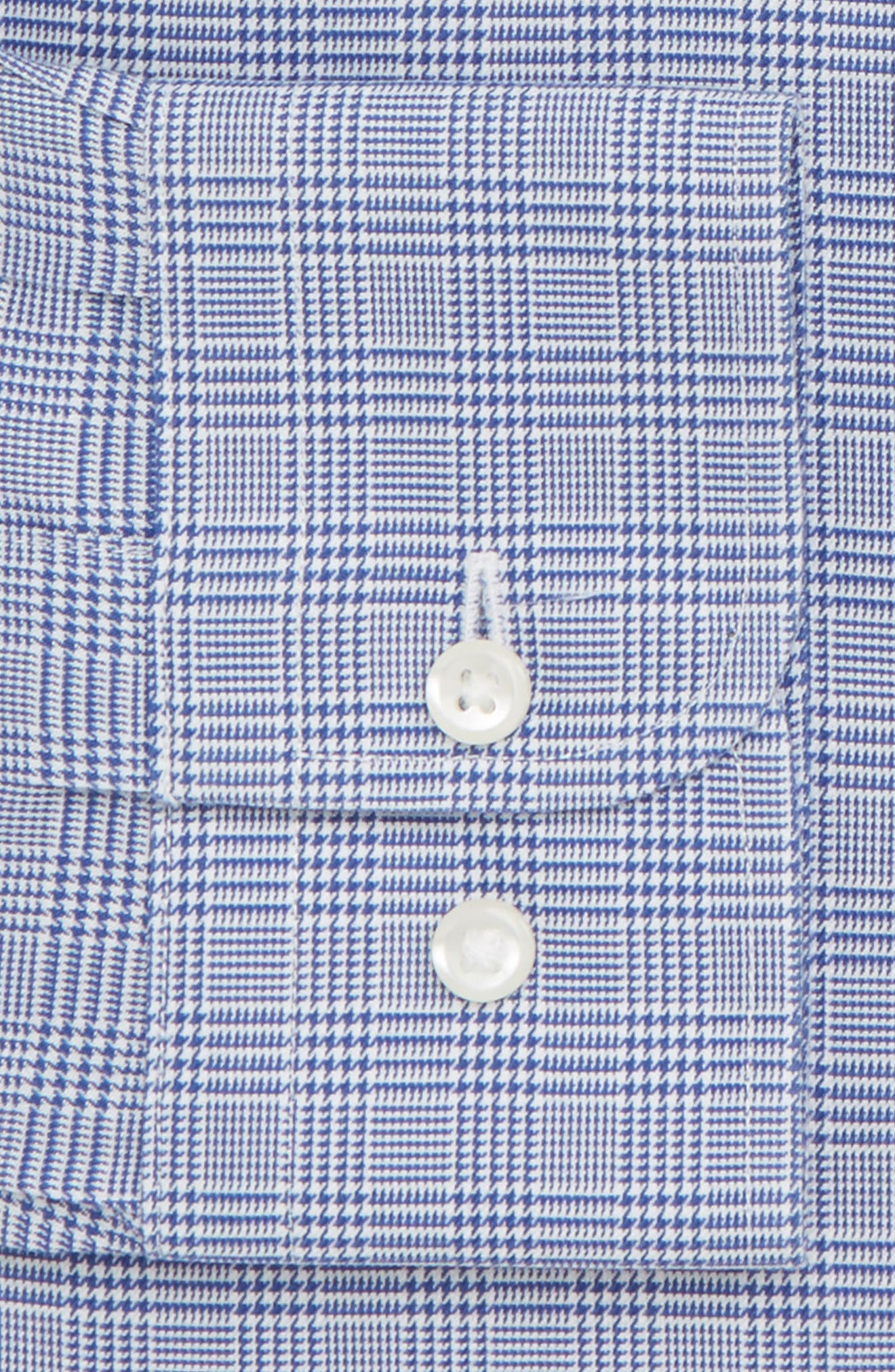 Smartcare<sup>™</sup> Traditional Fit Herringbone Dress Shirt,                             Alternate thumbnail 2, color,                             420