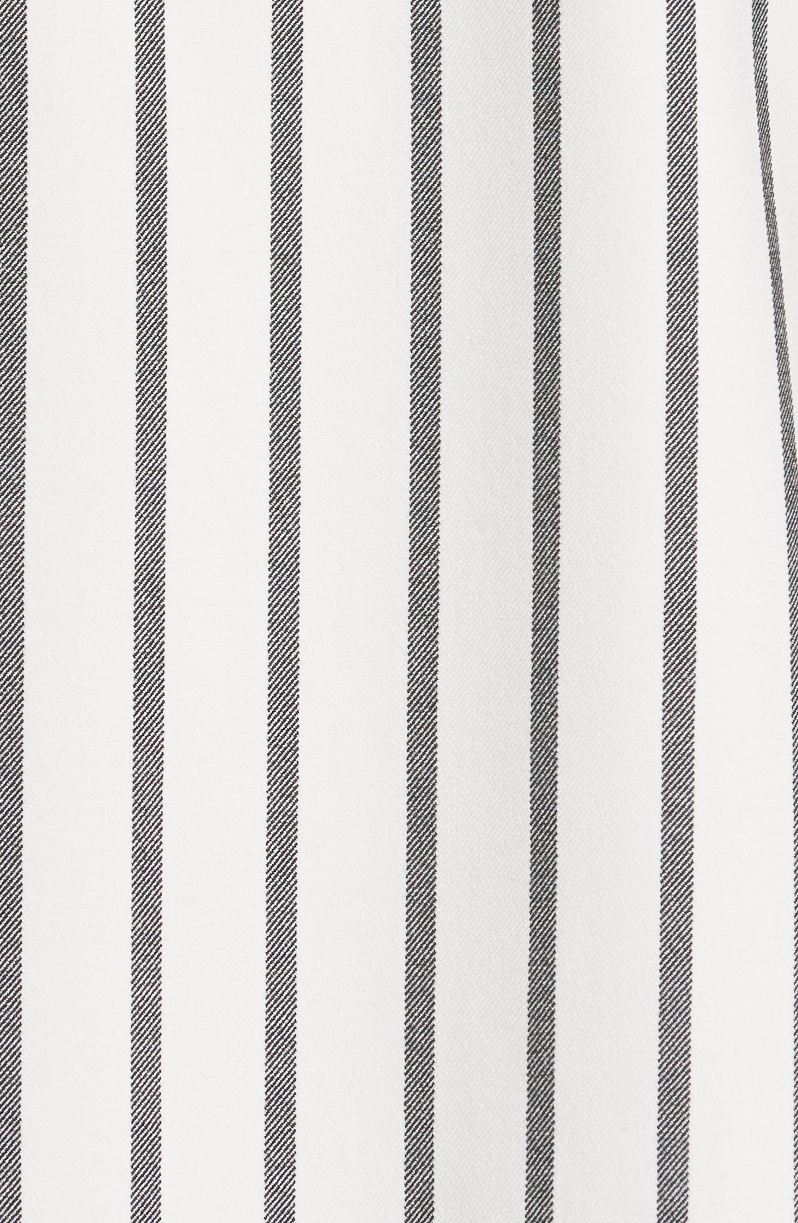 Lucci Stripe Midi Skirt,                             Alternate thumbnail 5, color,
