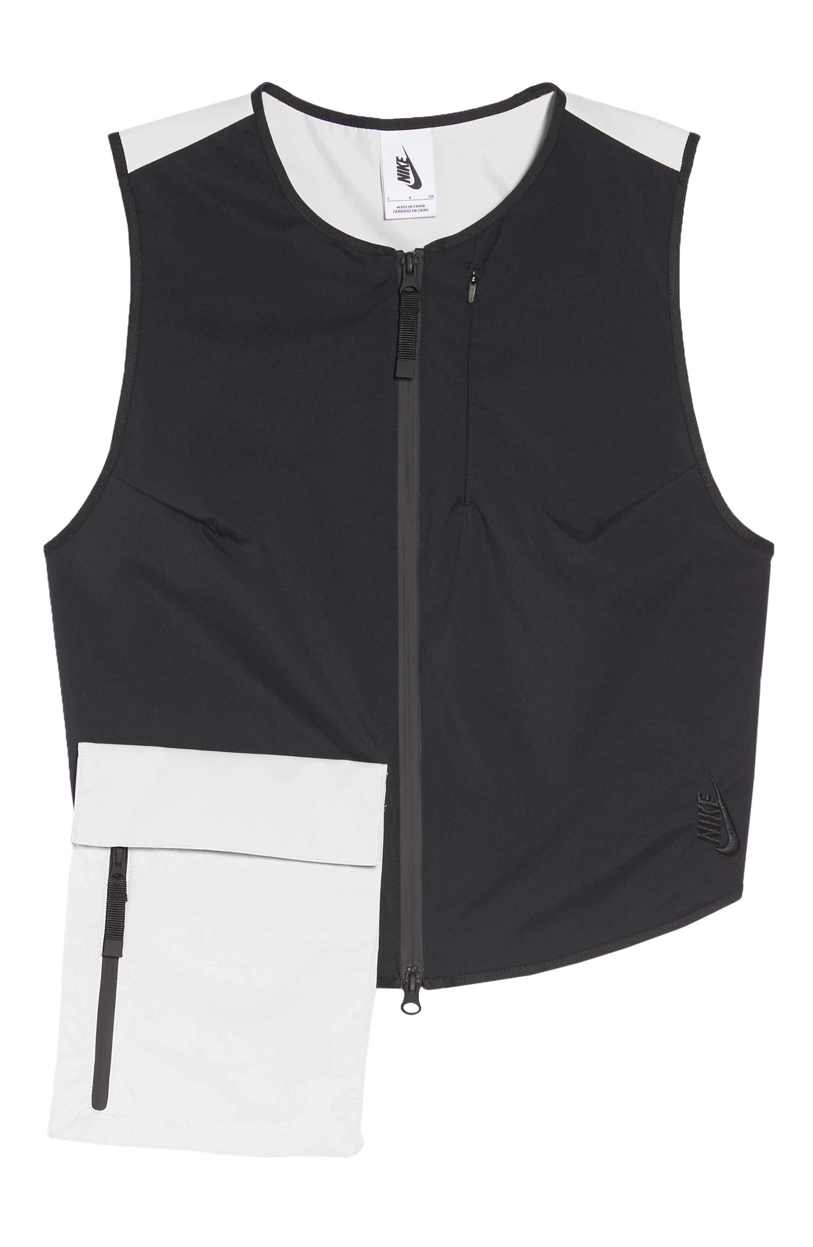 NRG Women's Utility Vest,                             Alternate thumbnail 6, color,                             BLACK/ VAPOR GREEN/ BLACK