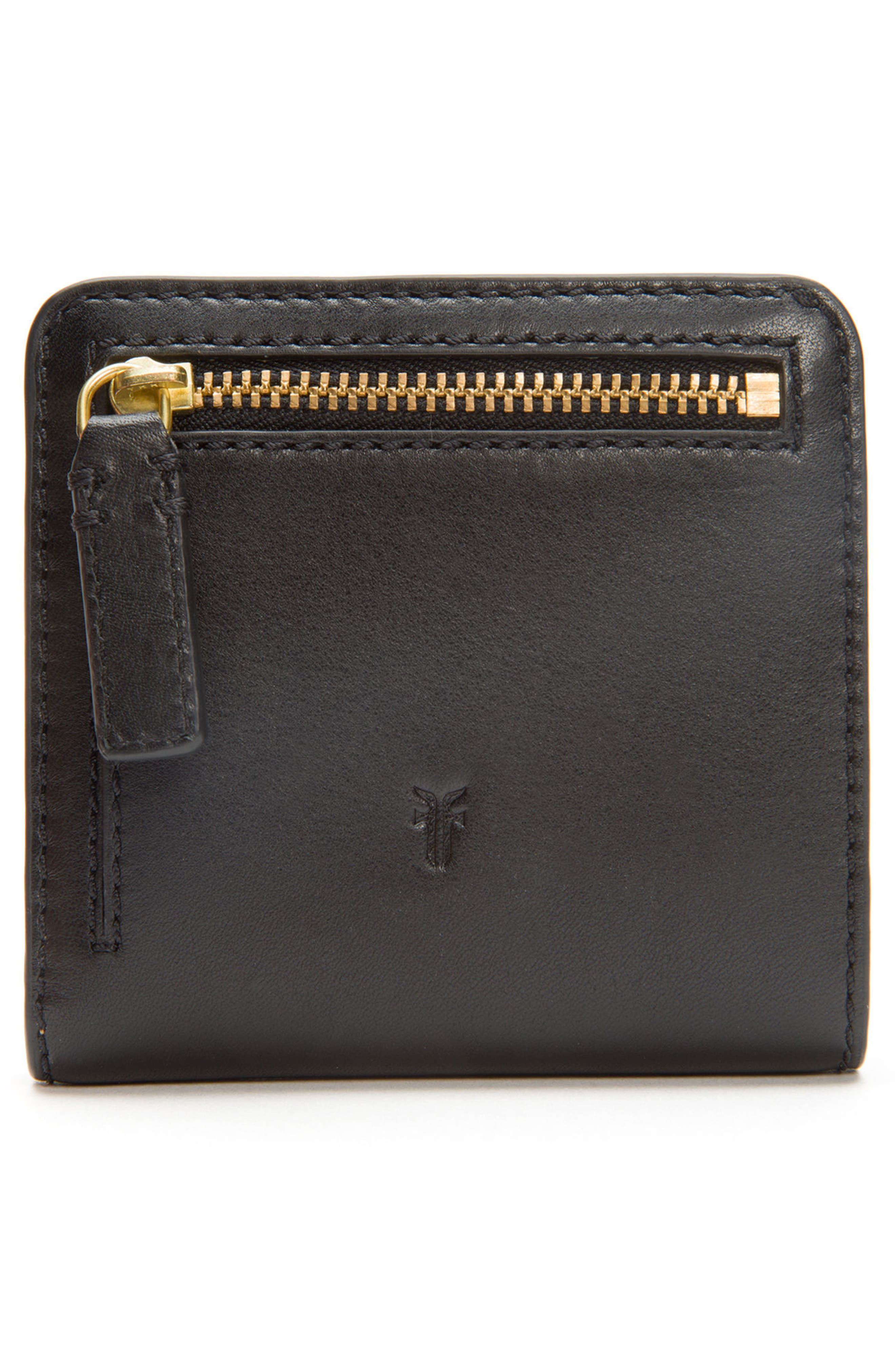 Carson Small Leather Wallet,                             Alternate thumbnail 4, color,                             001