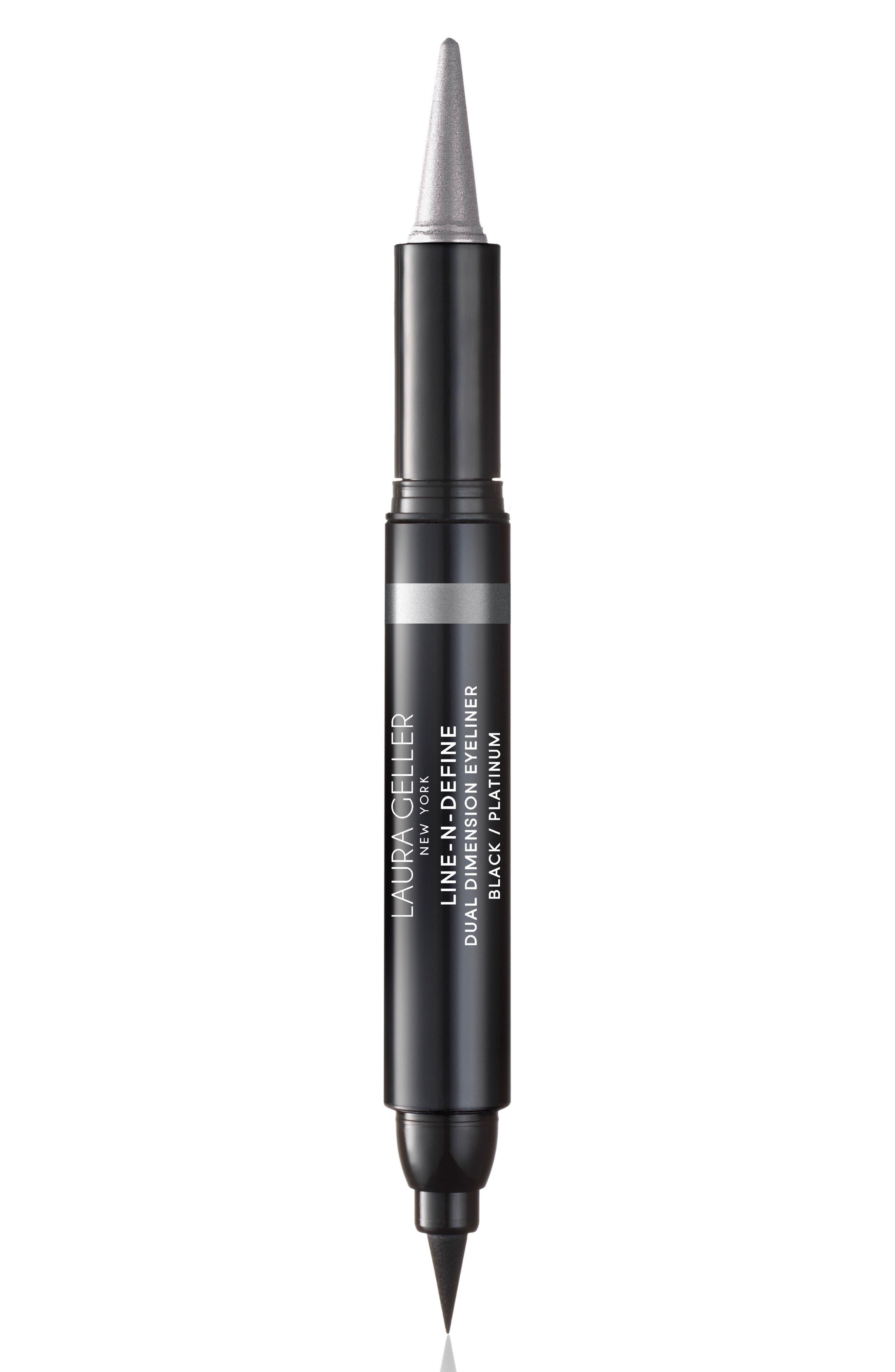 Laura Geller Beauty Line-N-Define Dual Dimension Eyeliner - Platinum