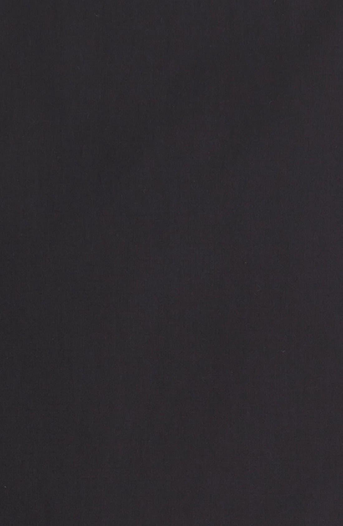 Slim Fit Sport Shirt,                             Alternate thumbnail 2, color,                             BLACK
