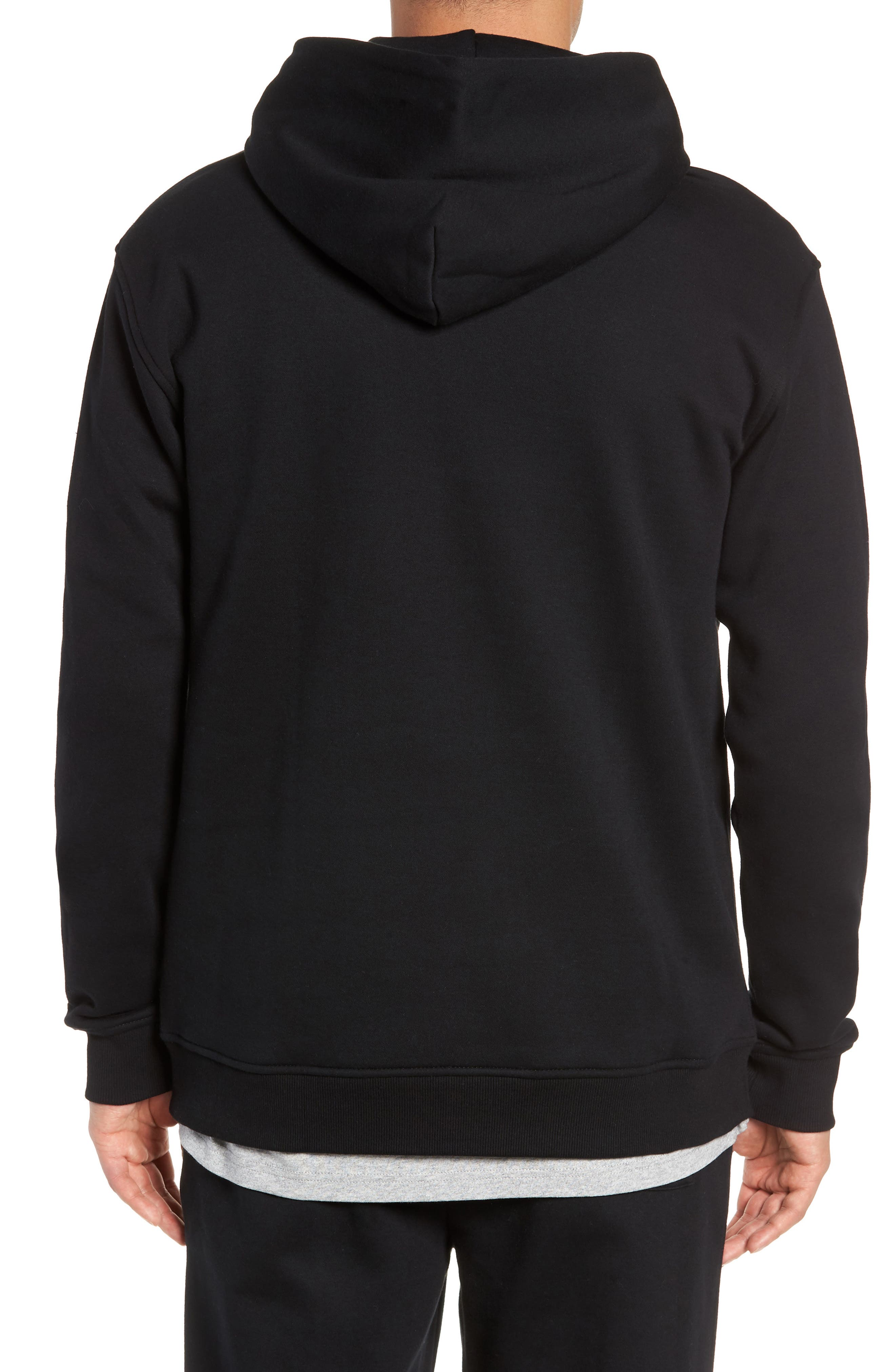 Tommy Classics Hoodie,                             Alternate thumbnail 2, color,                             001