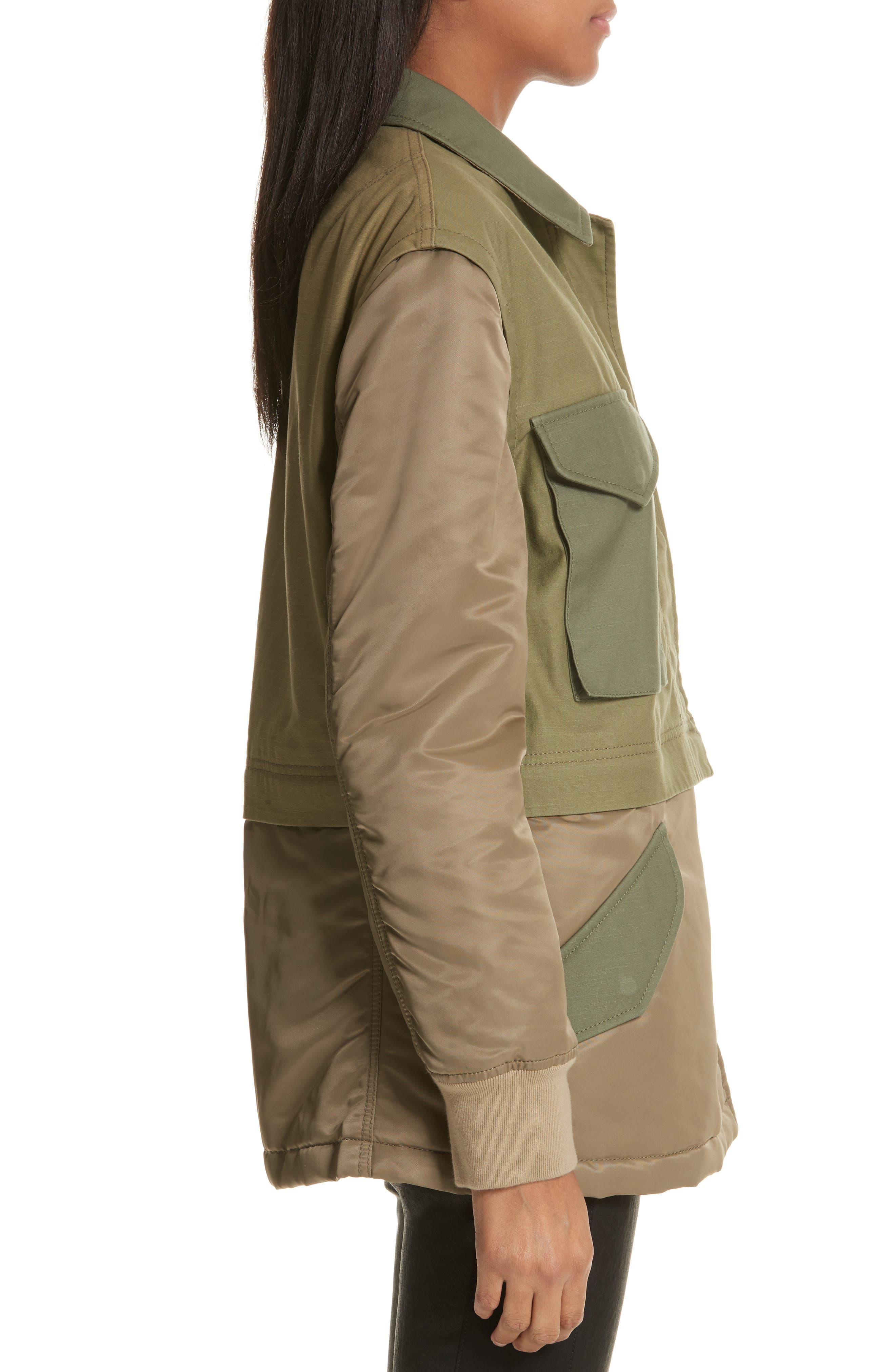 Modular Field Convertible Cotton Jacket,                             Alternate thumbnail 4, color,                             308