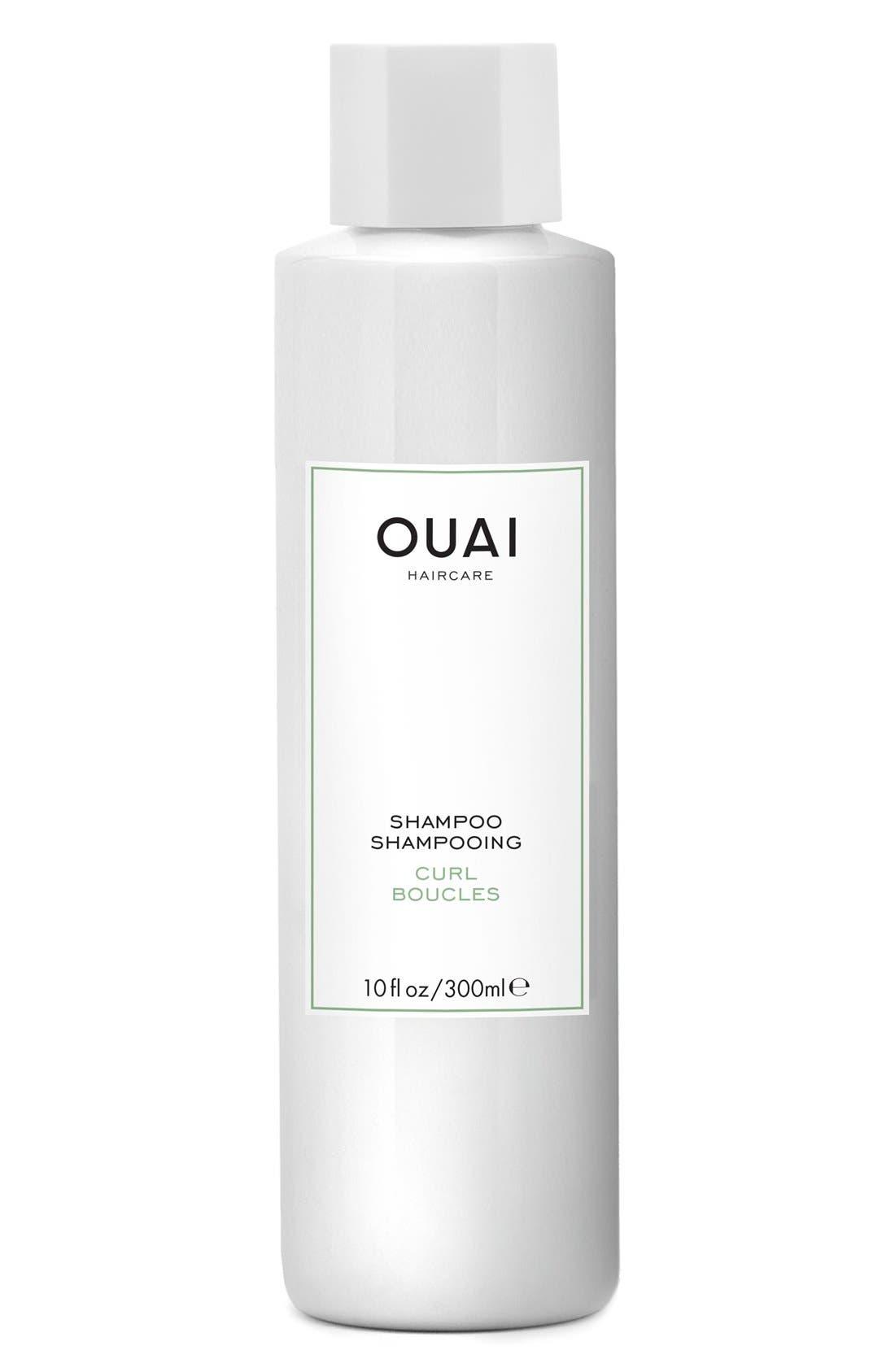 OUAI,                             Curl Shampoo,                             Main thumbnail 1, color,                             NO COLOR