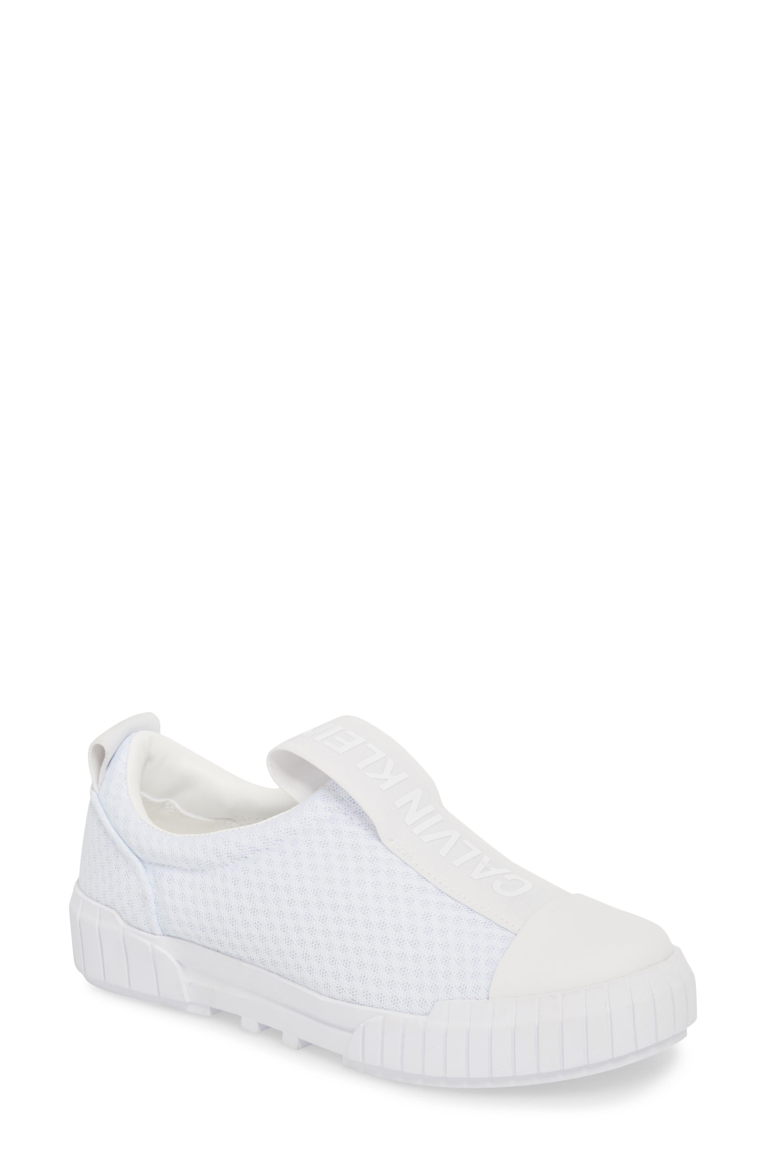 Bamina Slip-On Sneaker,                             Main thumbnail 1, color,                             WHITE