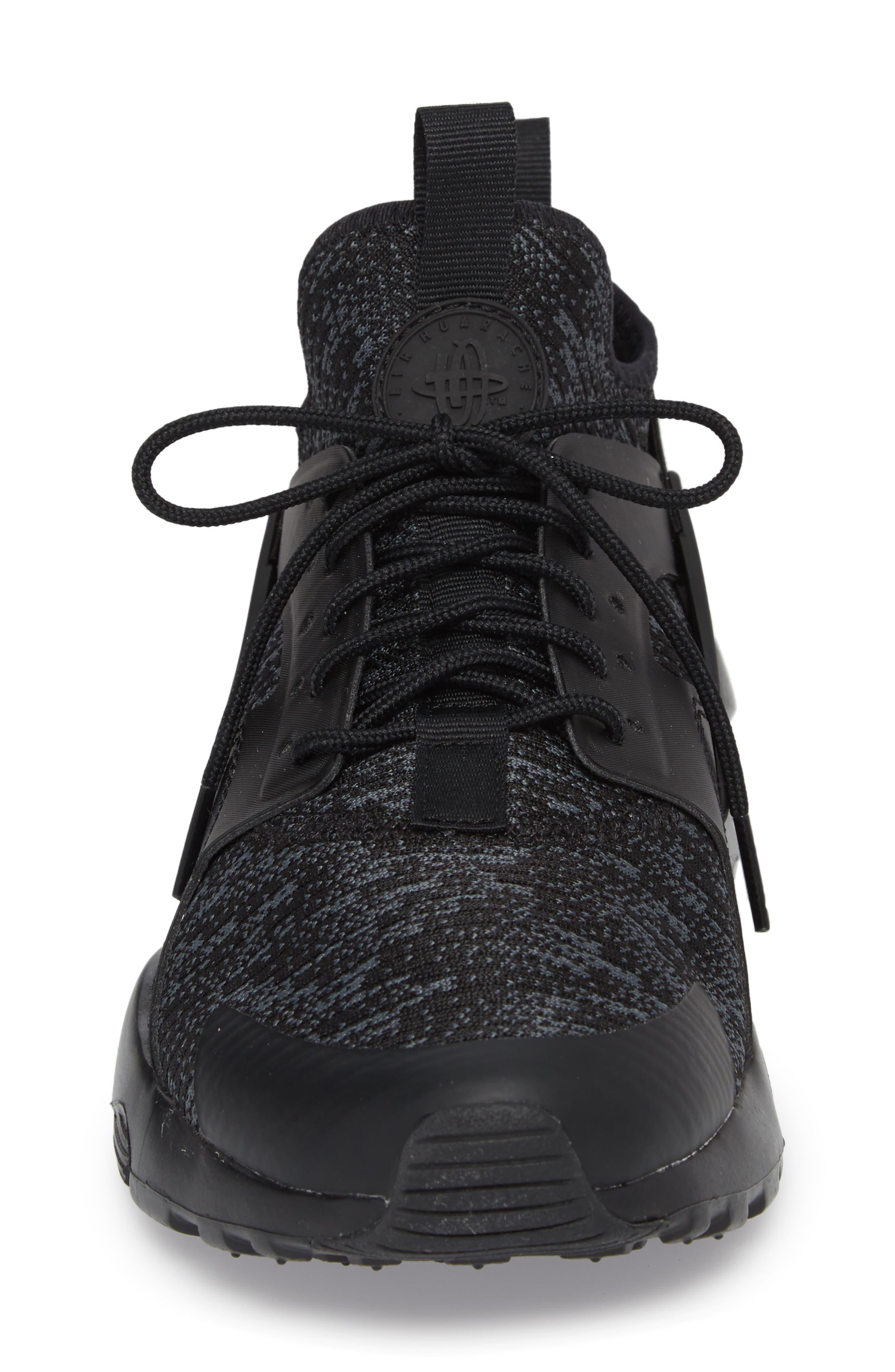 Air Huarache Run Ultra SE Sneaker,                             Alternate thumbnail 4, color,                             006