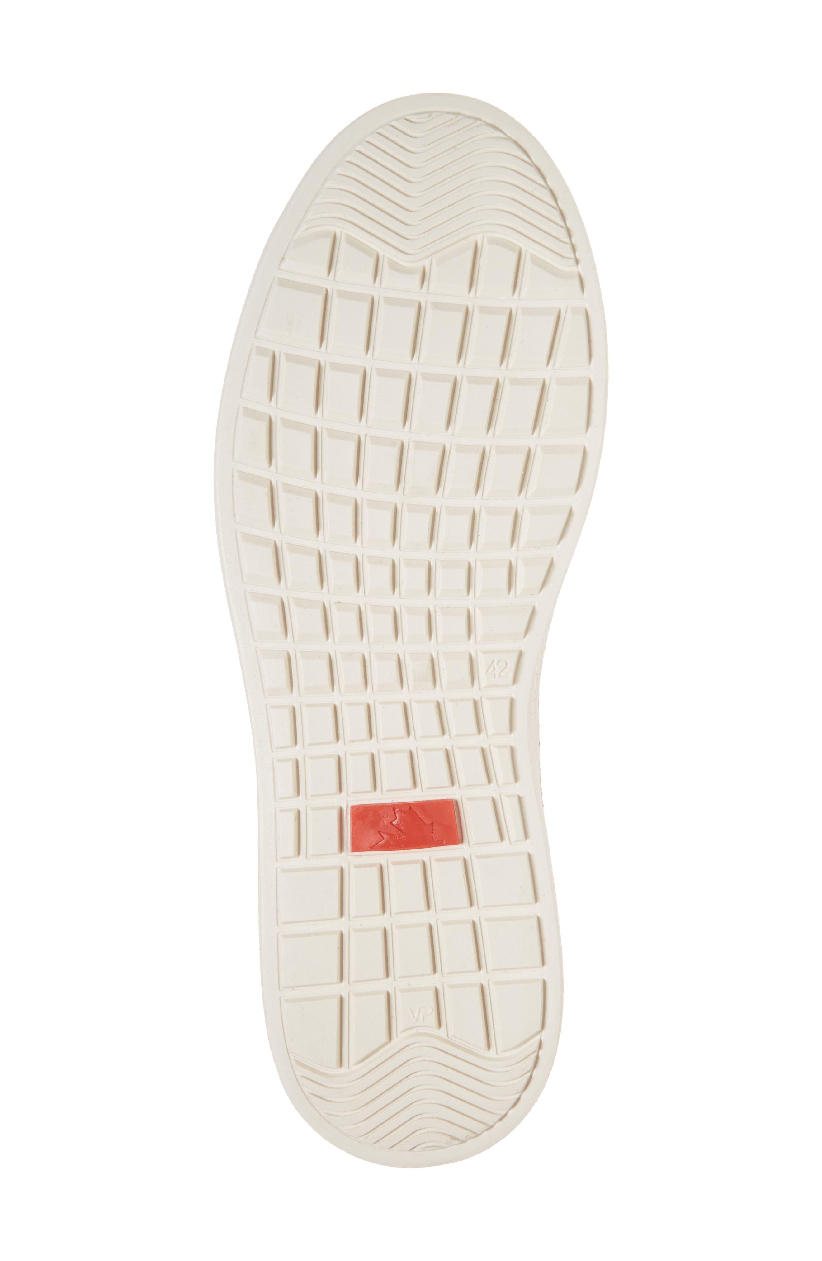 Reid Embossed Water Resistant Sneaker,                             Alternate thumbnail 6, color,                             SAND