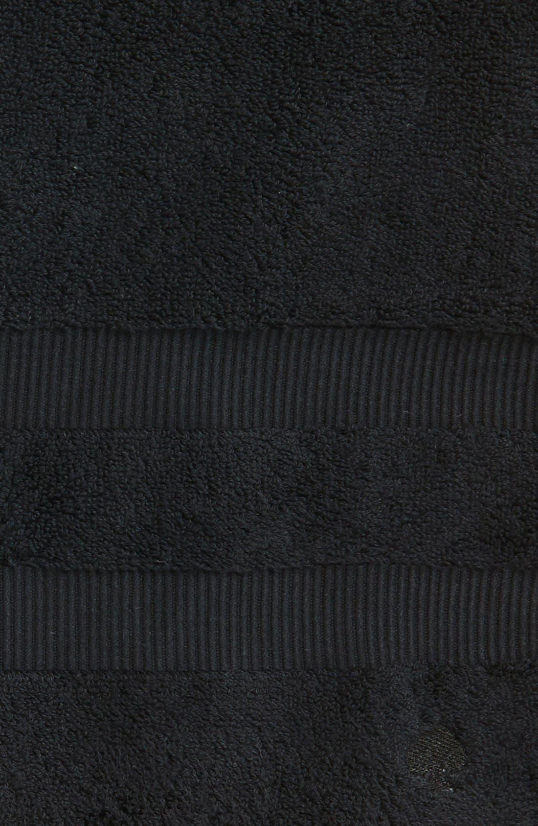 'chattam stripe' bath towel,                             Alternate thumbnail 2, color,                             BLACK