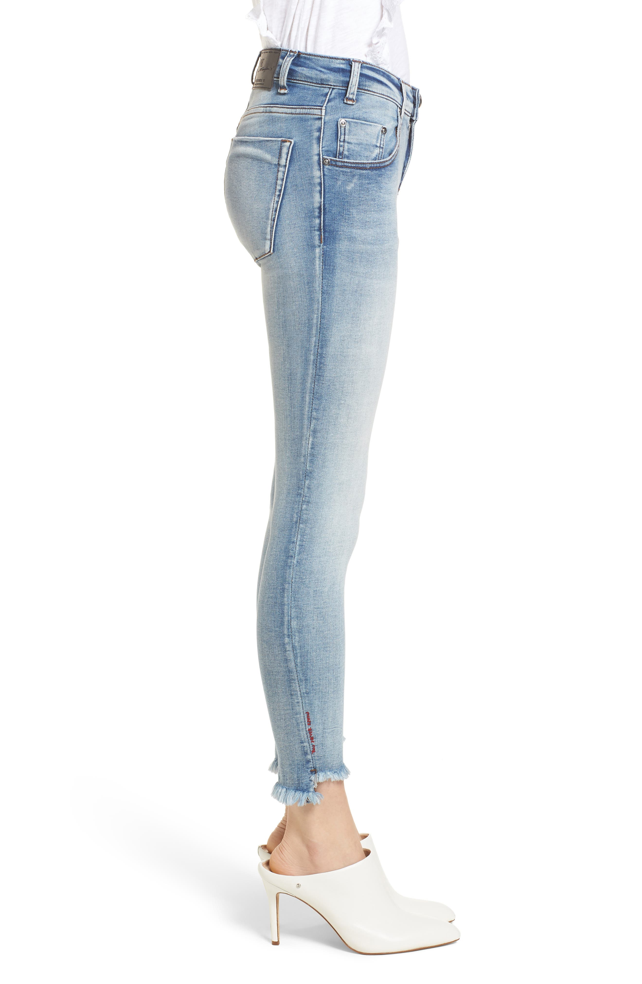 Freebirds Skinny Jeans,                             Alternate thumbnail 3, color,