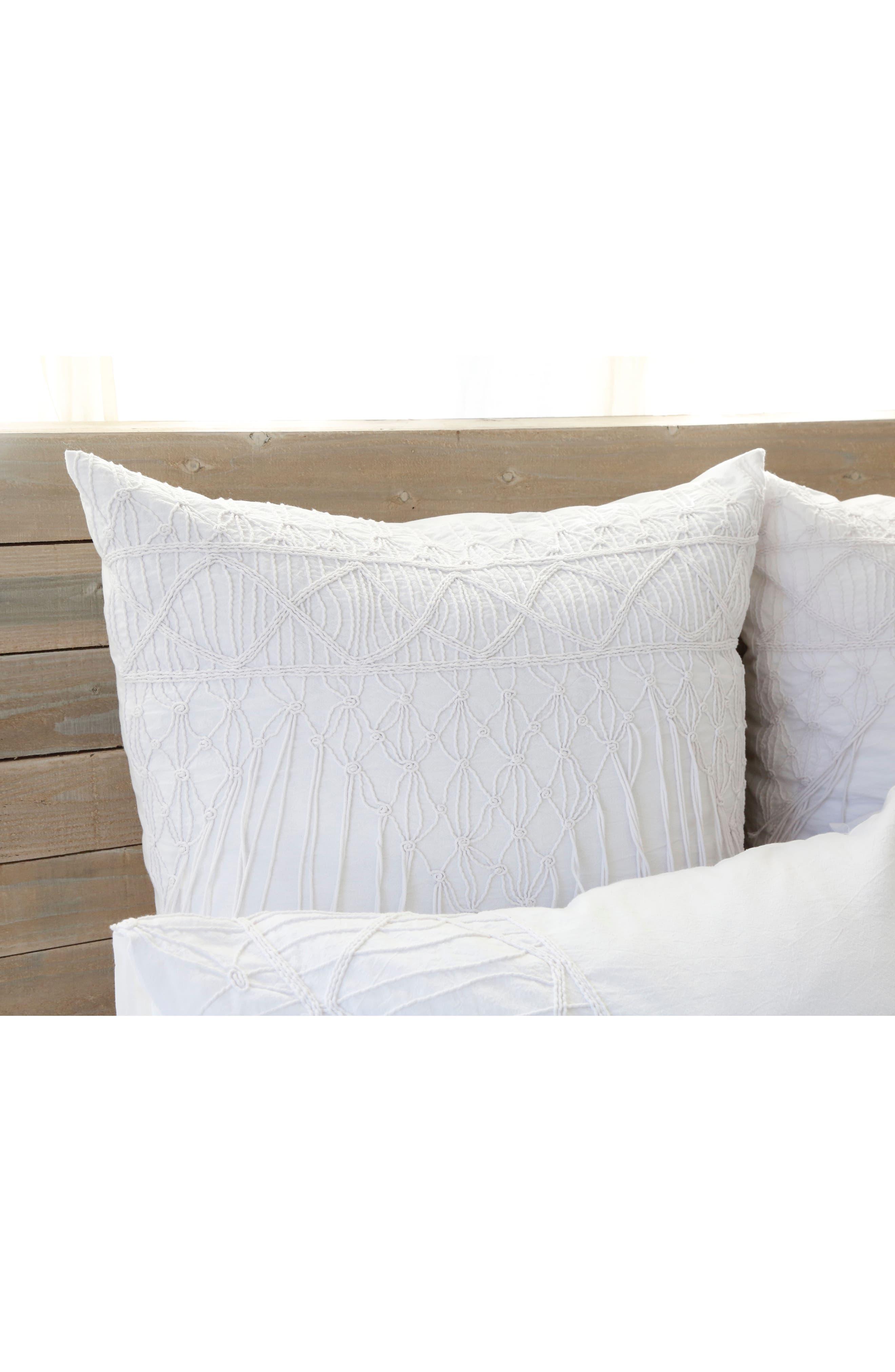 Zoe Accent Pillow Sham,                             Alternate thumbnail 2, color,                             100