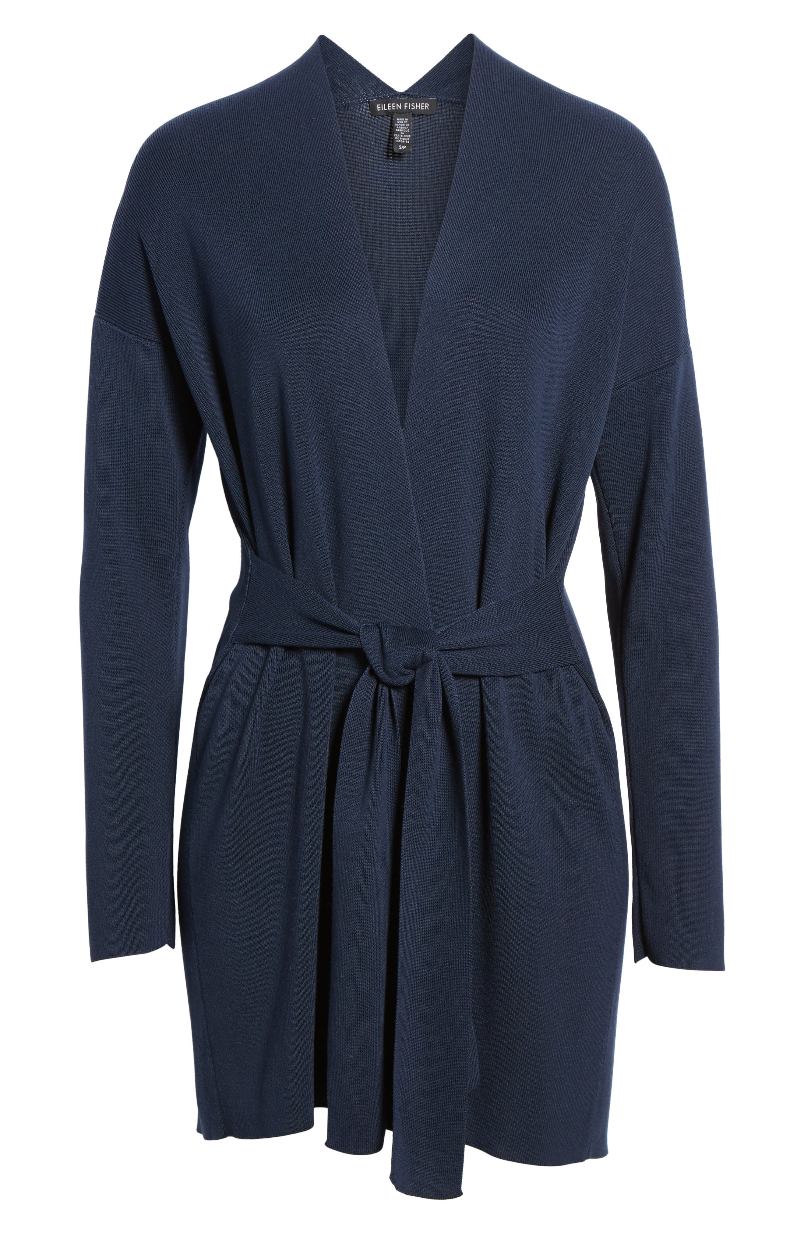 Long Belted Cardigan,                             Alternate thumbnail 24, color,