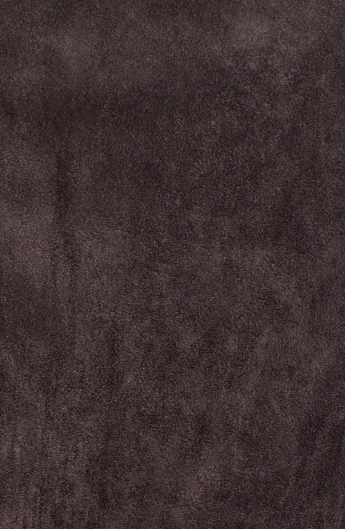 ASTR Faux Suede Moto Jacket,                             Alternate thumbnail 6, color,                             020