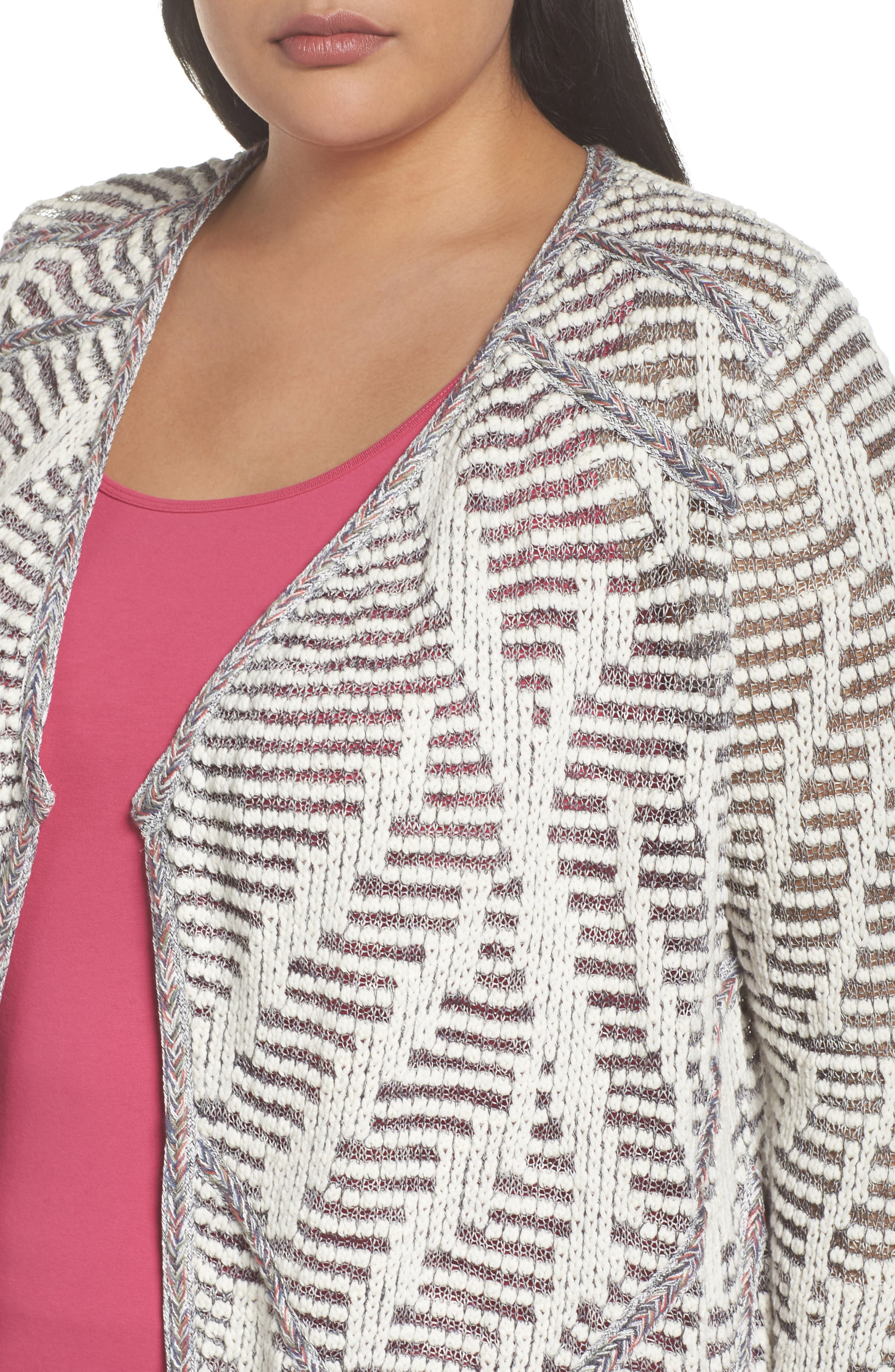 Desert Dot Cardigan,                             Alternate thumbnail 4, color,                             099