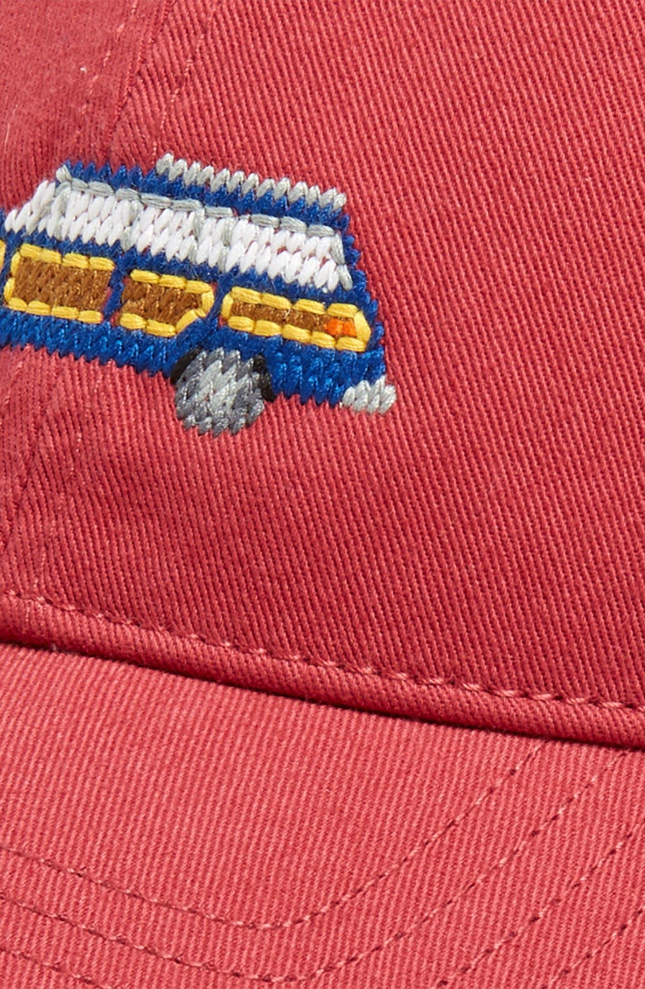 New Grand Wagoneer Baseball Cap,                             Alternate thumbnail 3, color,                             WEATHERED RED