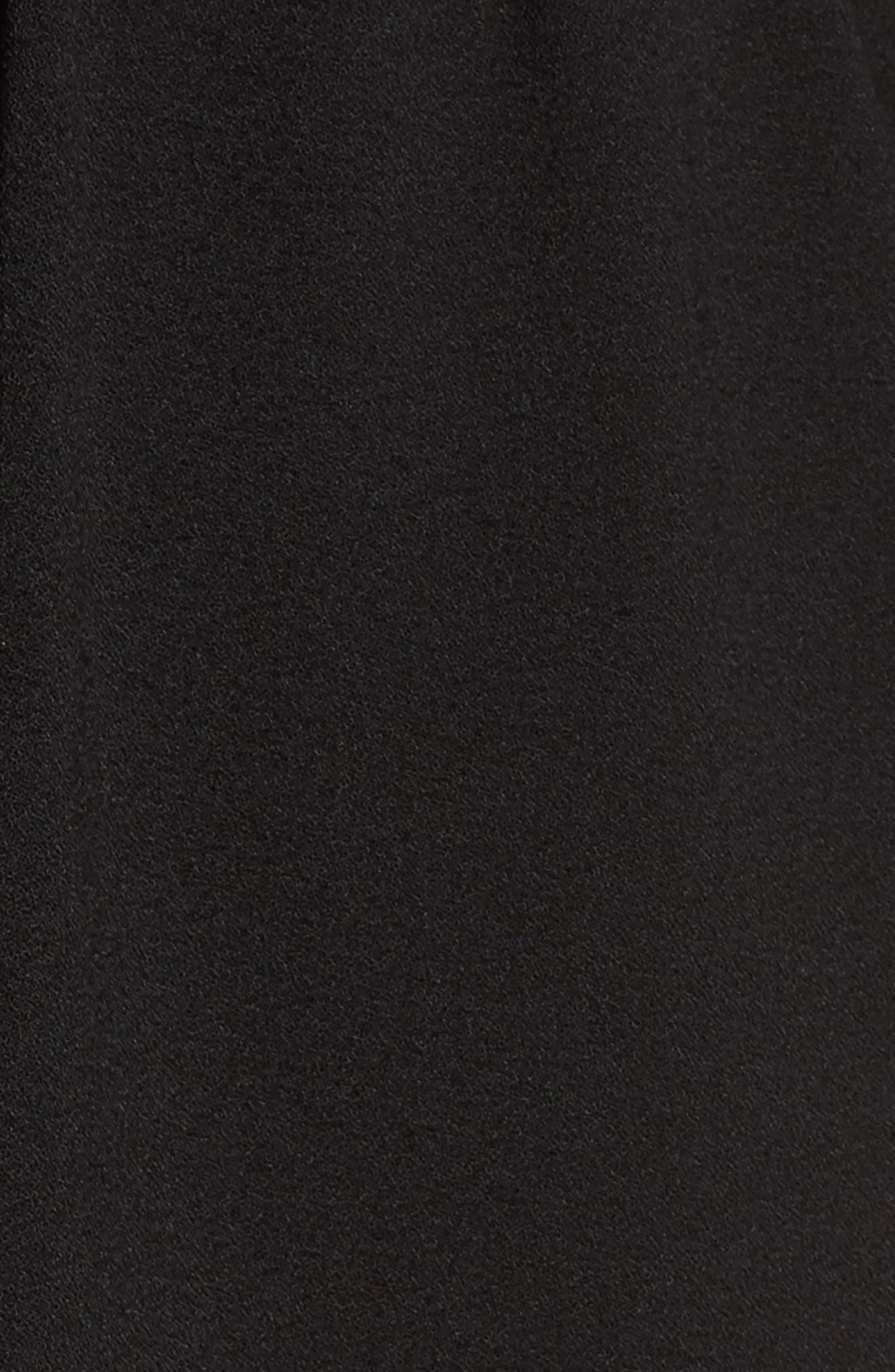 Sensa Cold Shoulder Minidress,                             Alternate thumbnail 5, color,                             001