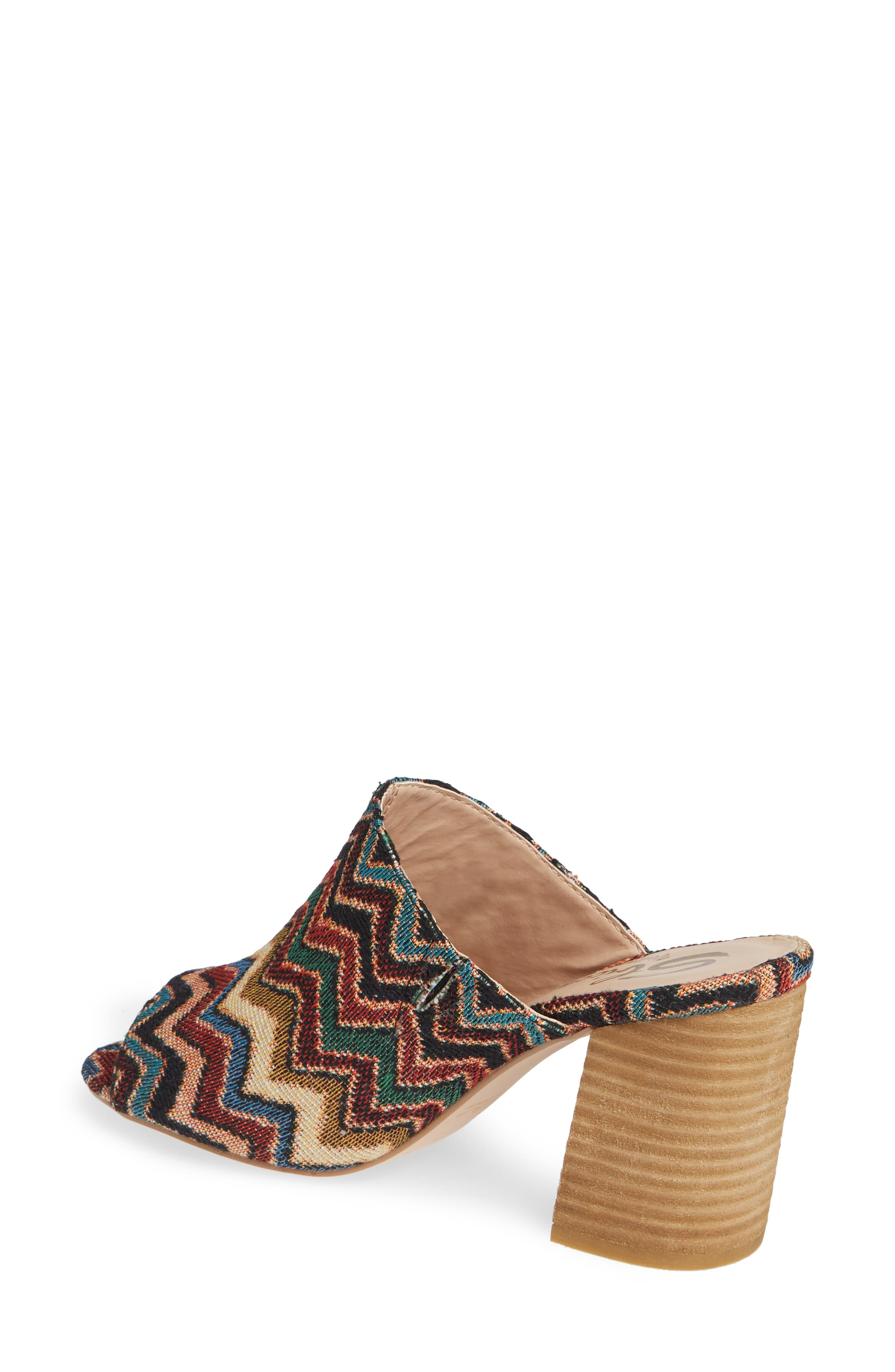Helena Sandal,                             Alternate thumbnail 2, color,                             MULTICOLOR FABRIC