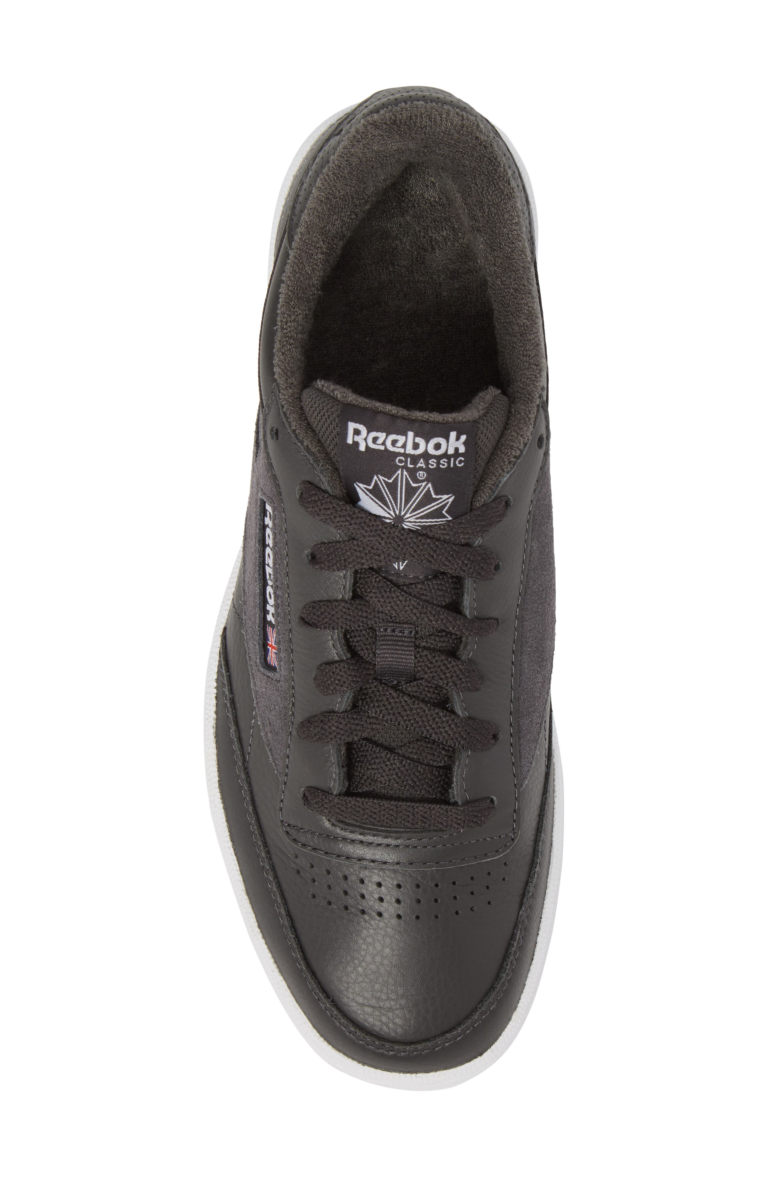 Club C 85 ESTL Sneaker,                             Alternate thumbnail 5, color,                             001