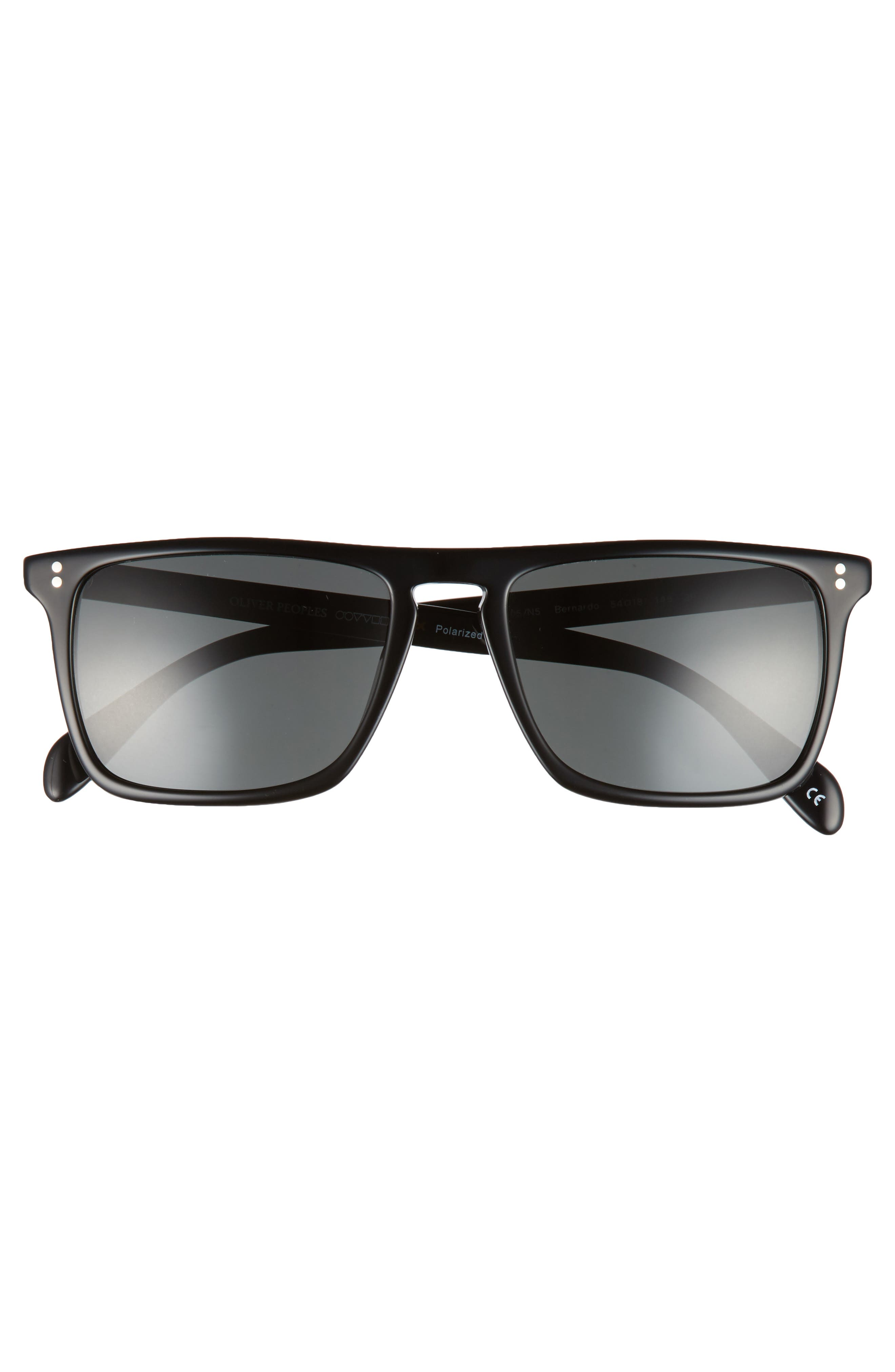 Bernardo 54mm Polarized Sunglasses,                             Alternate thumbnail 2, color,                             001