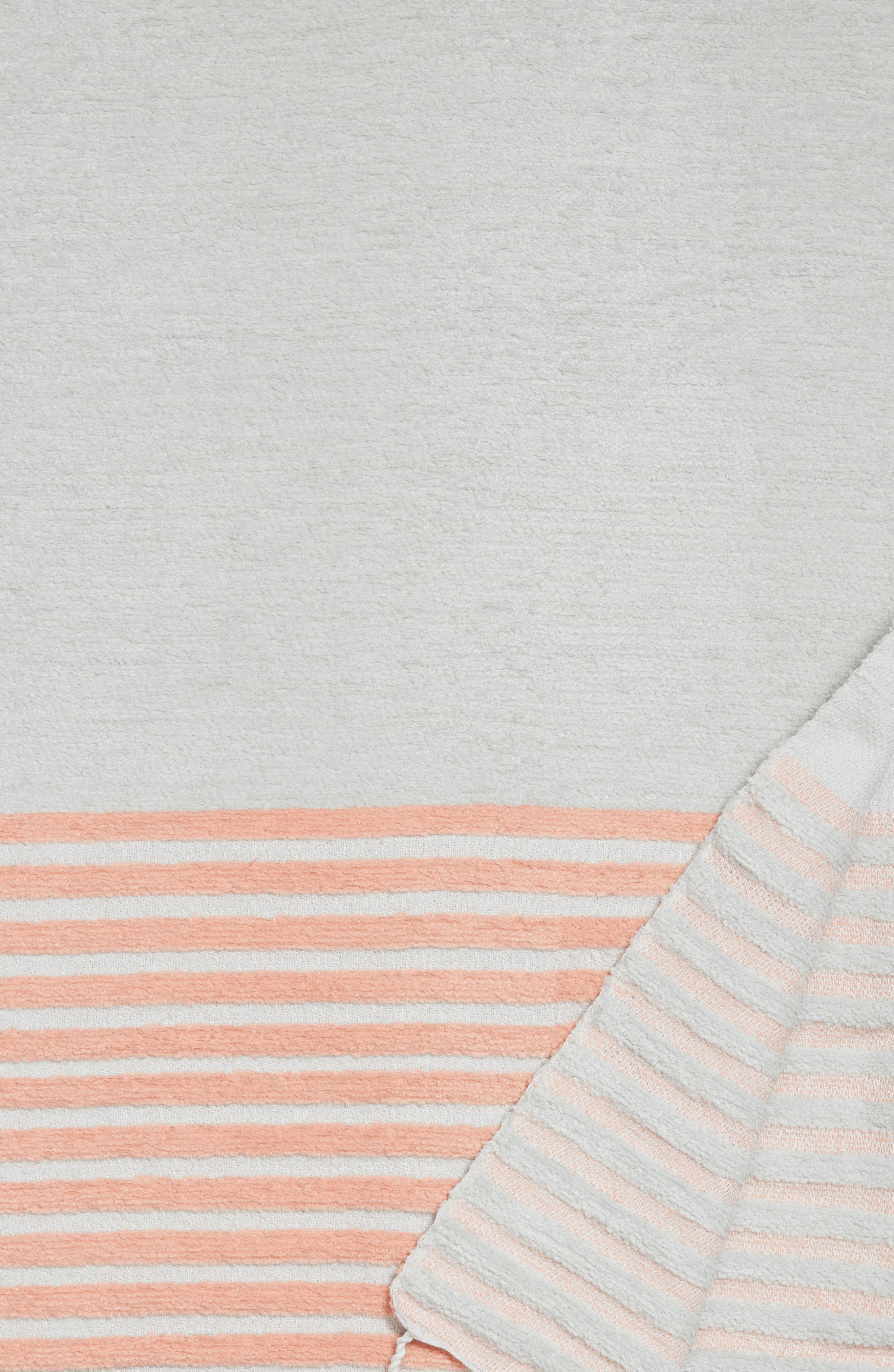 Hammam Stripe Throw,                             Alternate thumbnail 2, color,                             020
