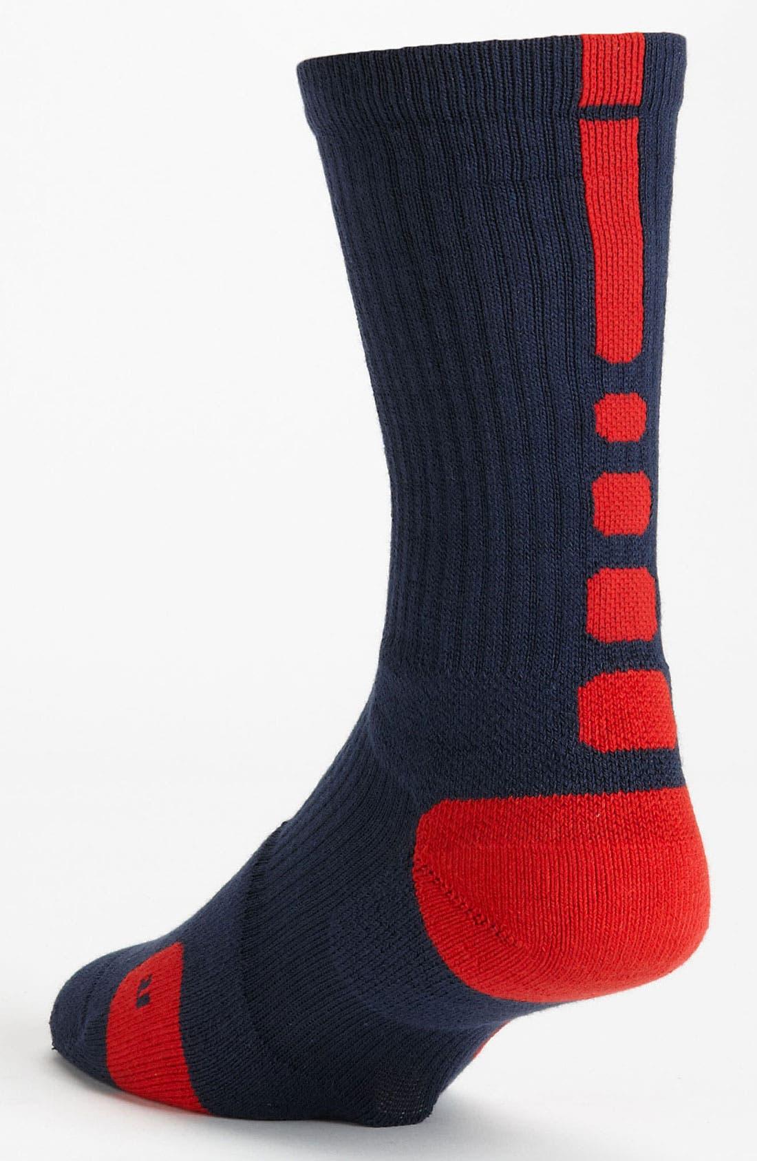 'Elite Basketball' Crew Socks,                             Alternate thumbnail 48, color,