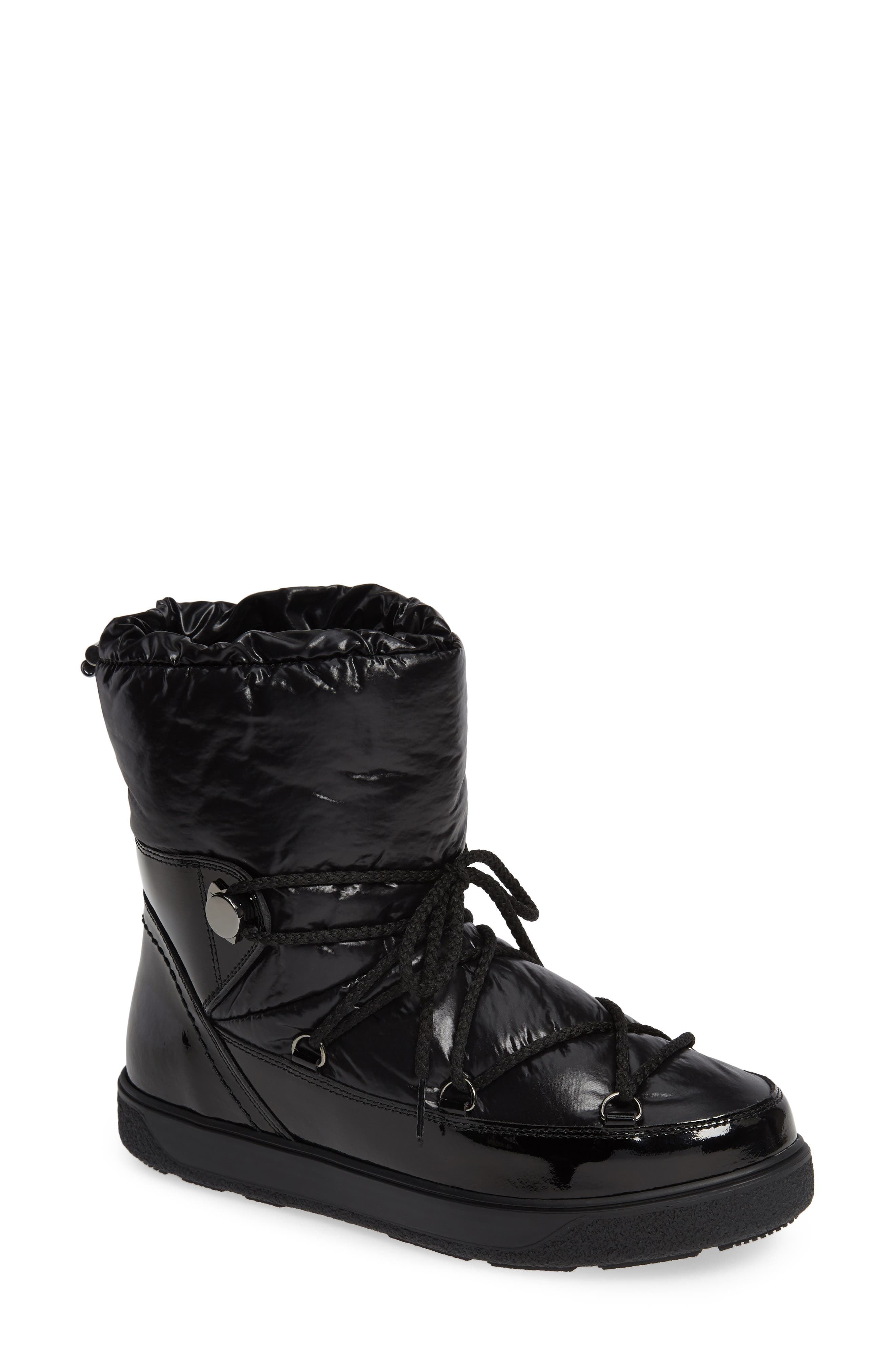 Stivale Lace-Up Boot in Black