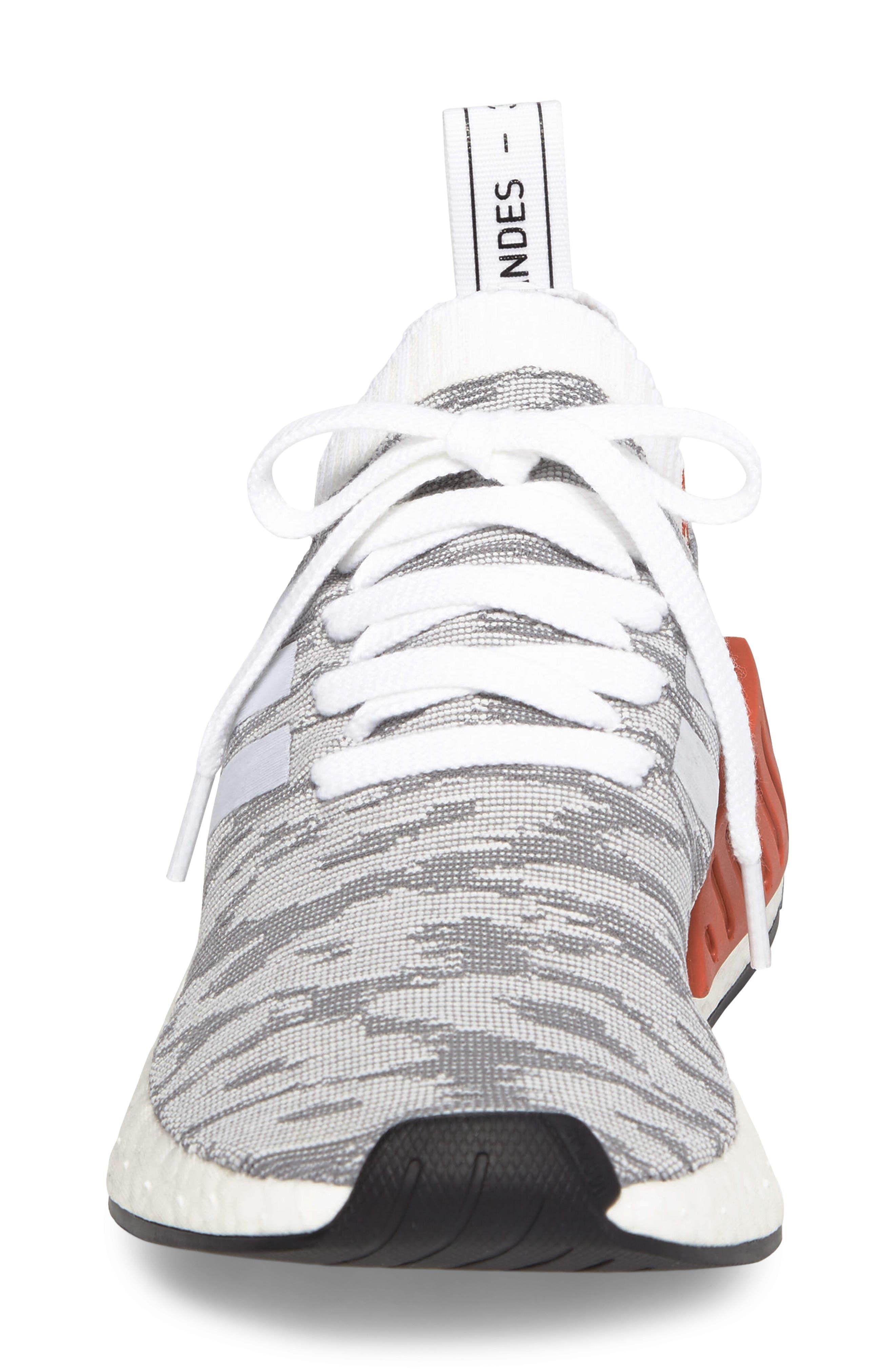 NMD R2 Primeknit Athletic Shoe,                             Alternate thumbnail 18, color,