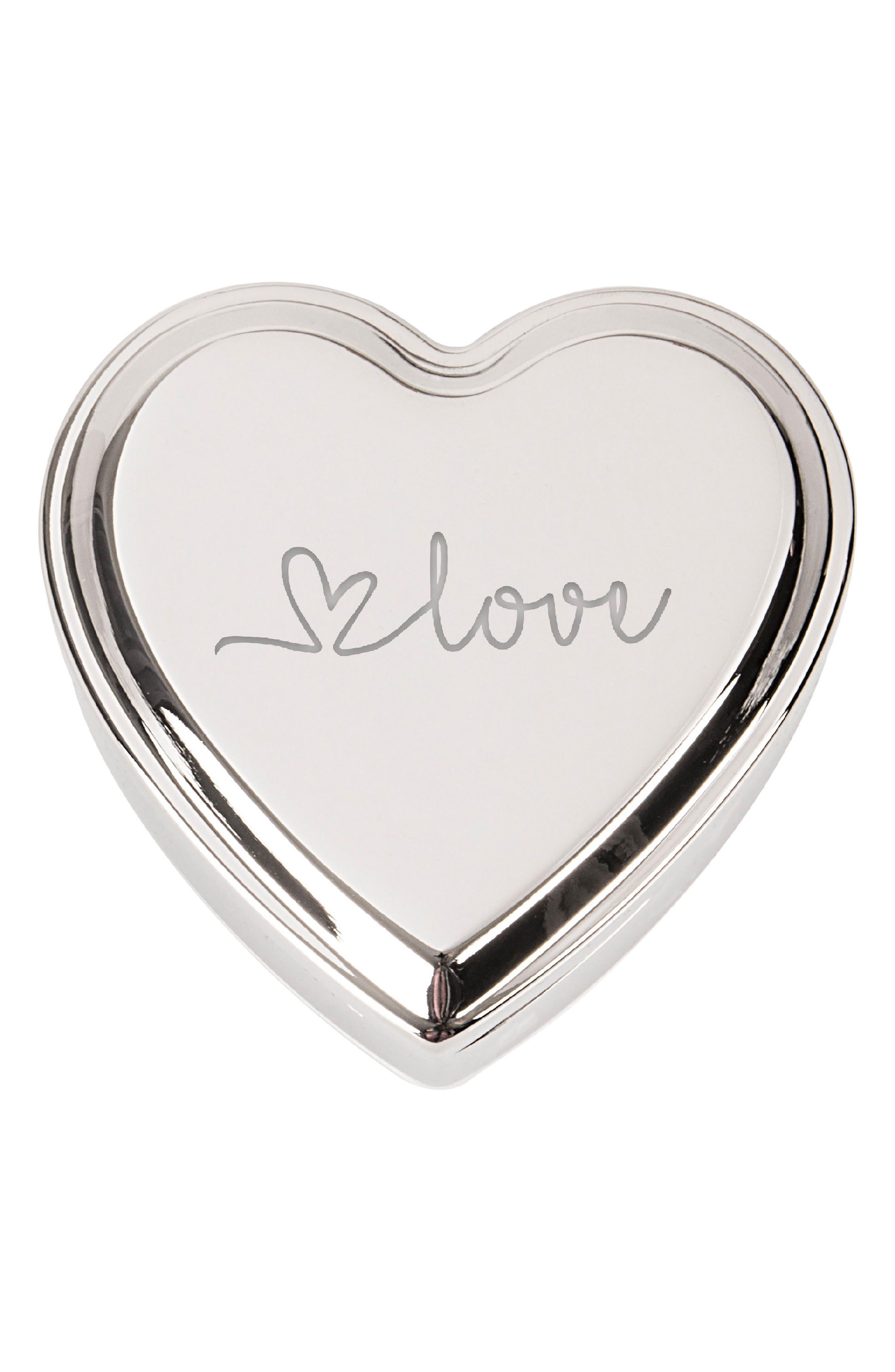 Cathys Concepts Love Heart Keepsake Box,                             Main thumbnail 1, color,                             040