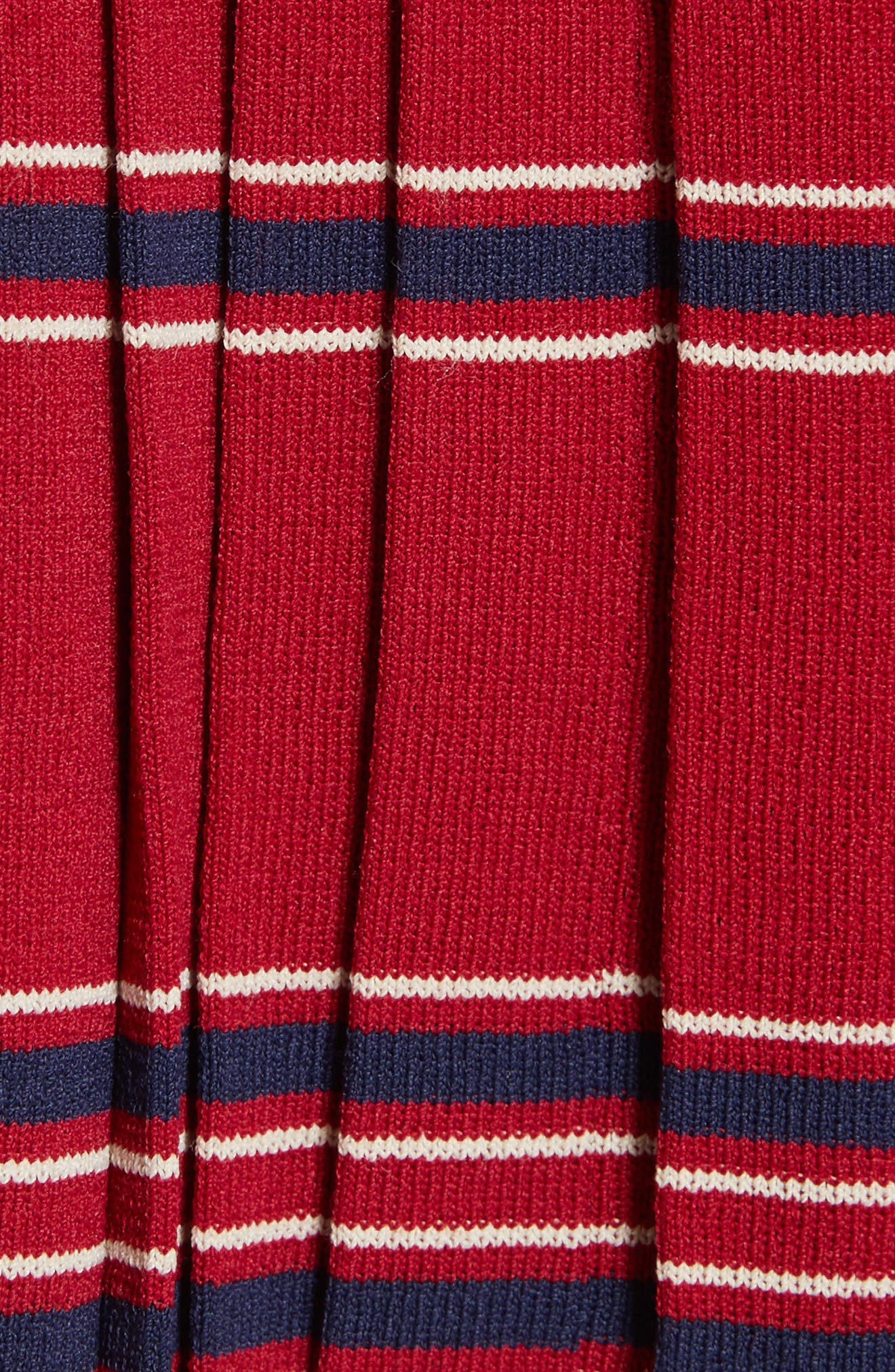 Pleated Miniskirt,                             Alternate thumbnail 5, color,                             601