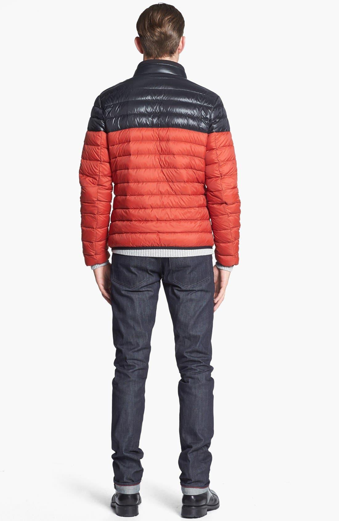 RALEIGH DENIM,                             'Martin' Skinny Fit Selvedge Jeans,                             Alternate thumbnail 5, color,                             401