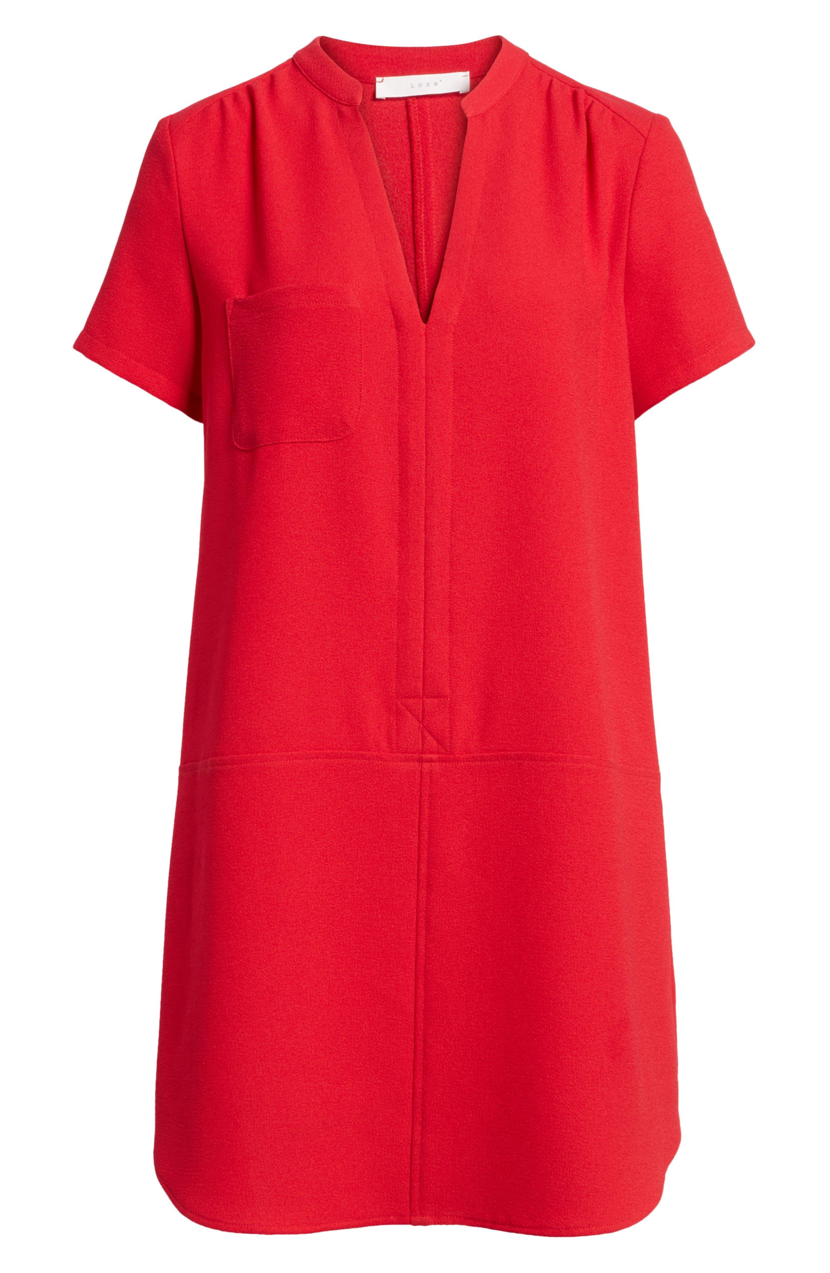 Hailey Crepe Dress,                             Alternate thumbnail 158, color,